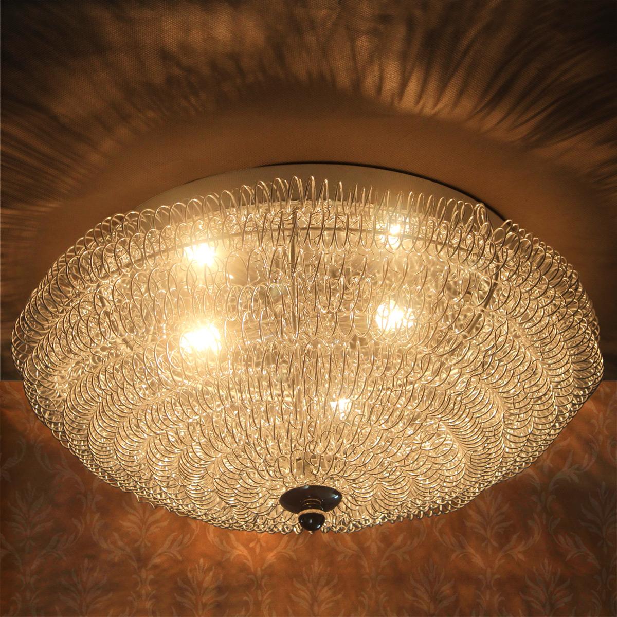 Charmant [lux.pro] Design Decken Leuchte Deckenlampe Beleuchtung Modern  Lüster Chrome | EBay