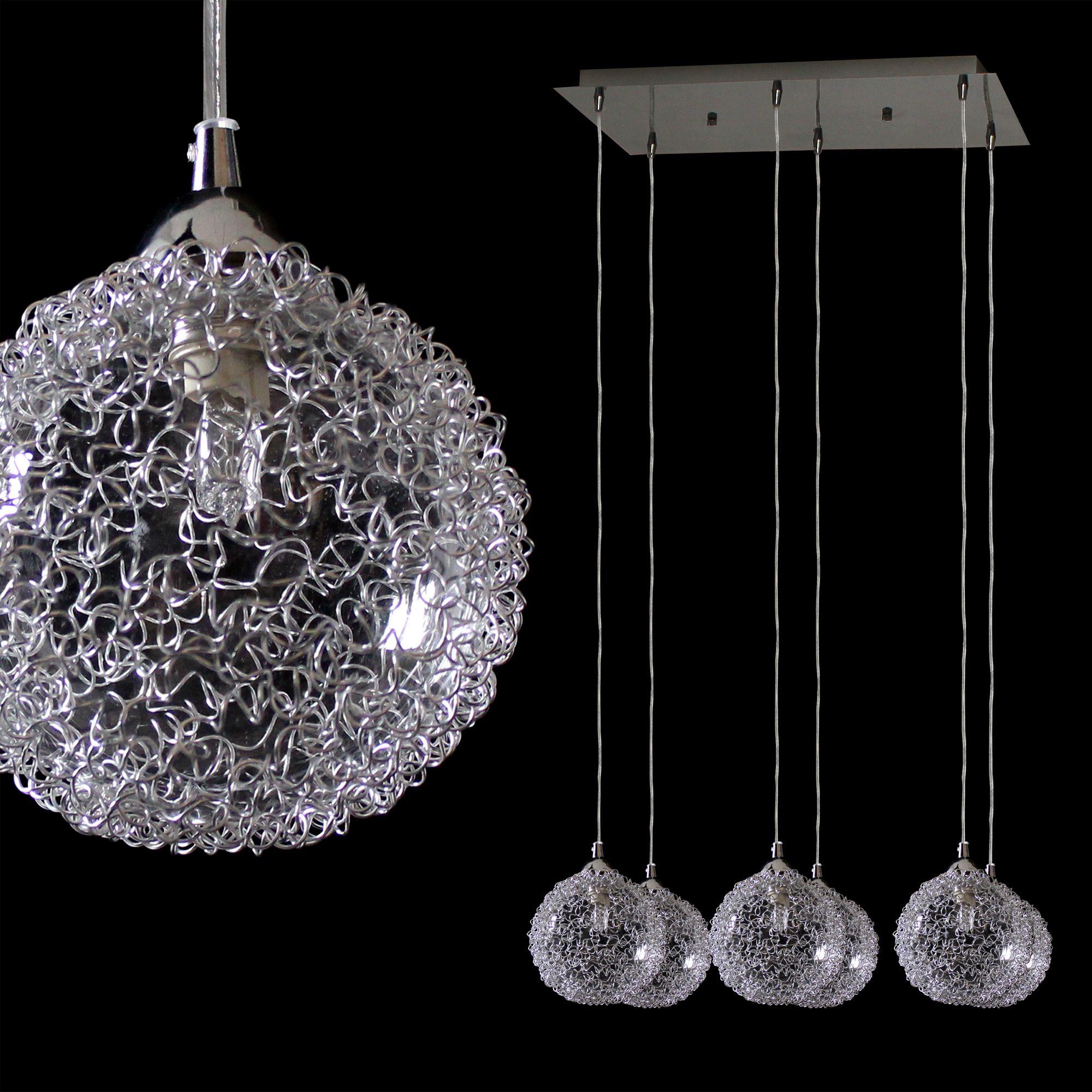 kristall deckenleuchte 38x38cm deckenlampe. Black Bedroom Furniture Sets. Home Design Ideas