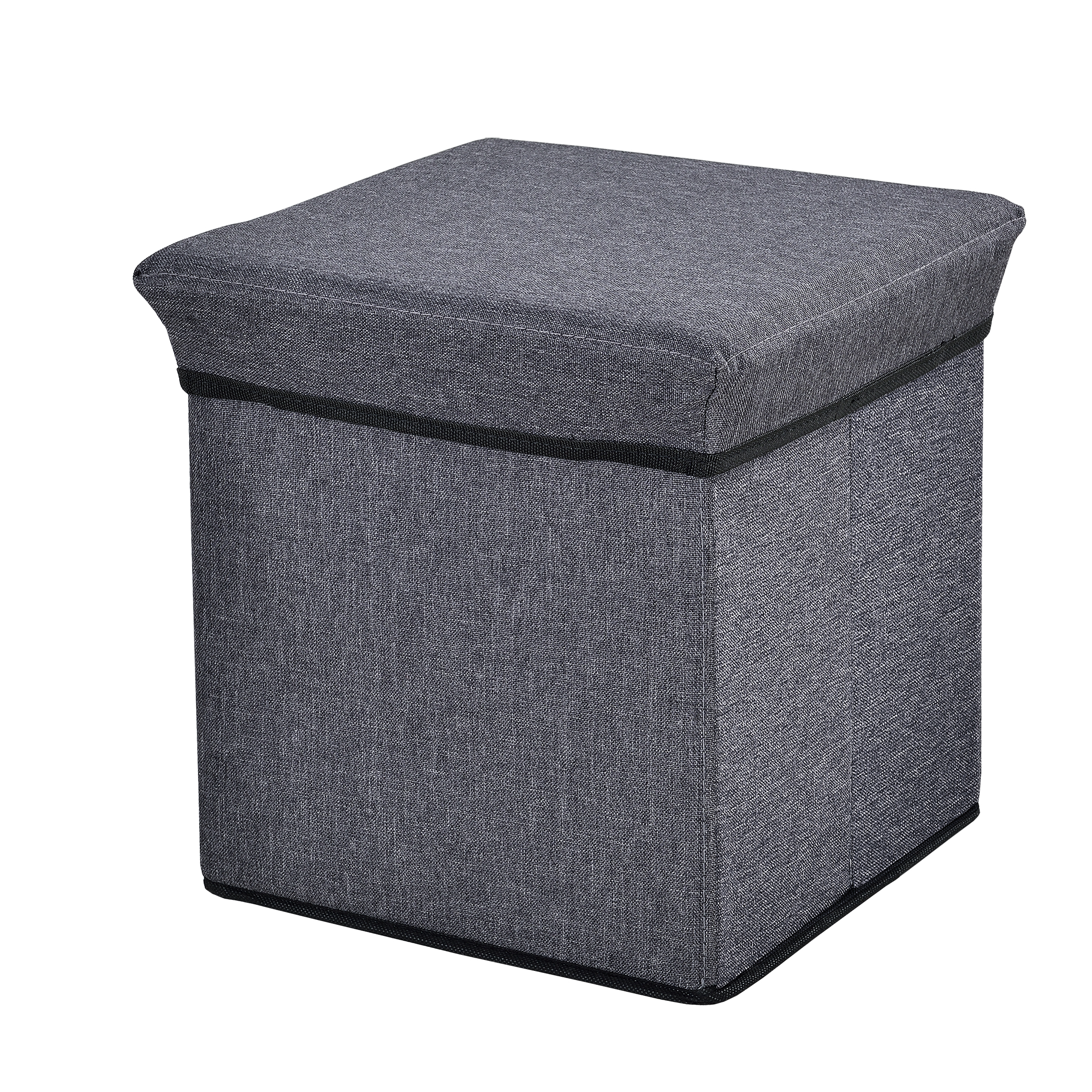 Ottoman seat chest 30x30x30cm folding box for Ottoman to sit on
