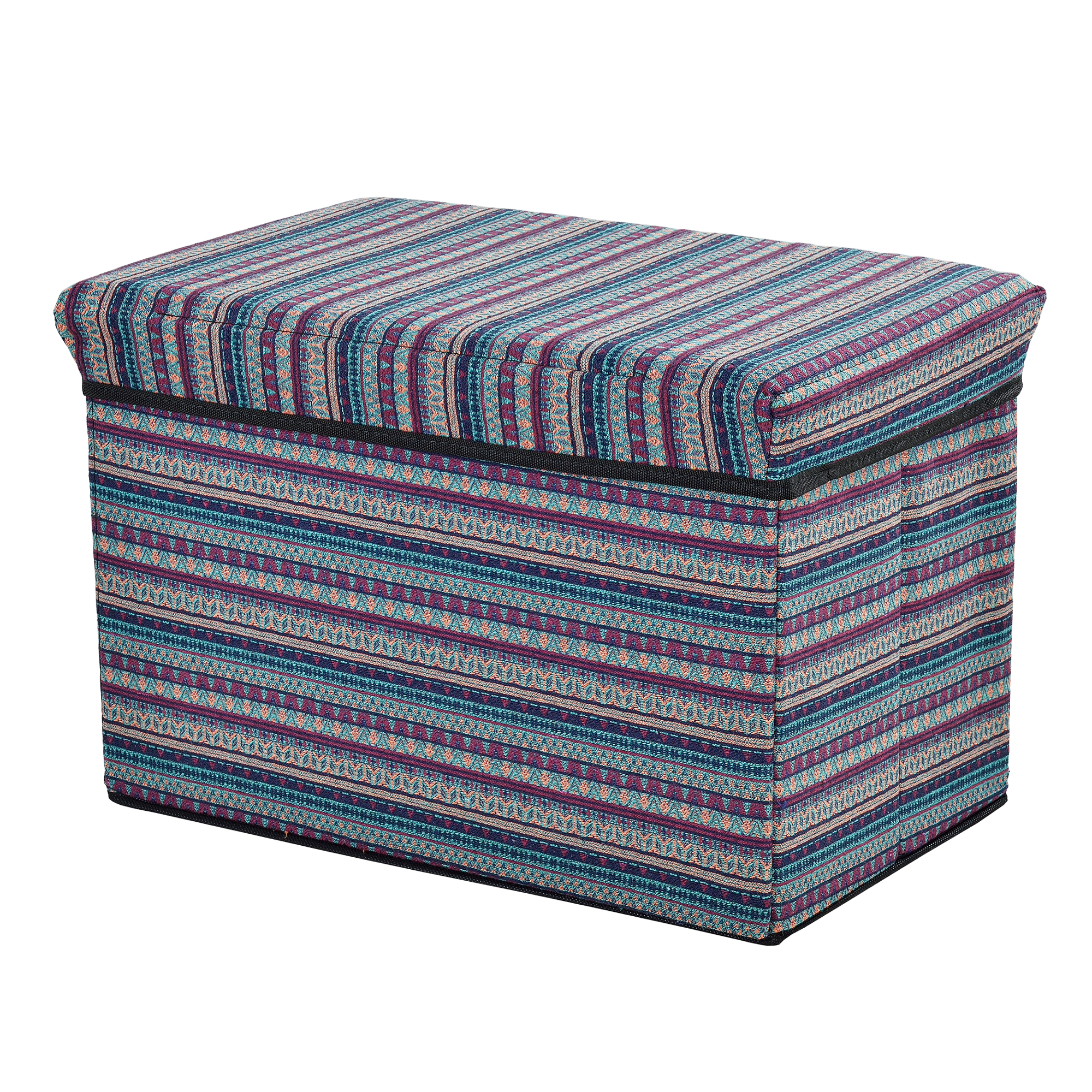 Ottoman seat chest 48x32x32cm folding box sitting for Ottoman to sit on