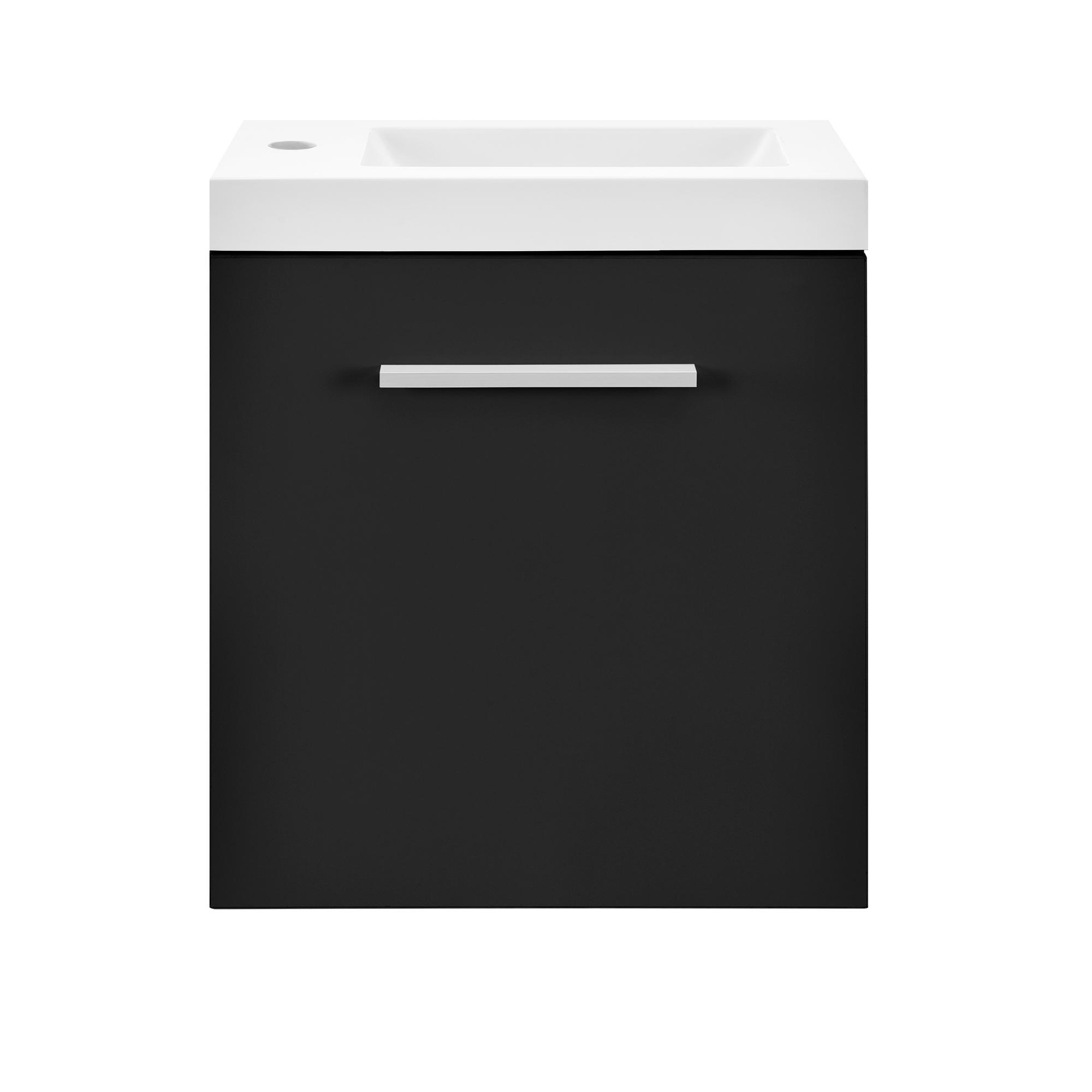 Neuhaus armoire de salle bain miroir meuble dessous lavabo noir ebay - Ebay meuble salle de bain ...