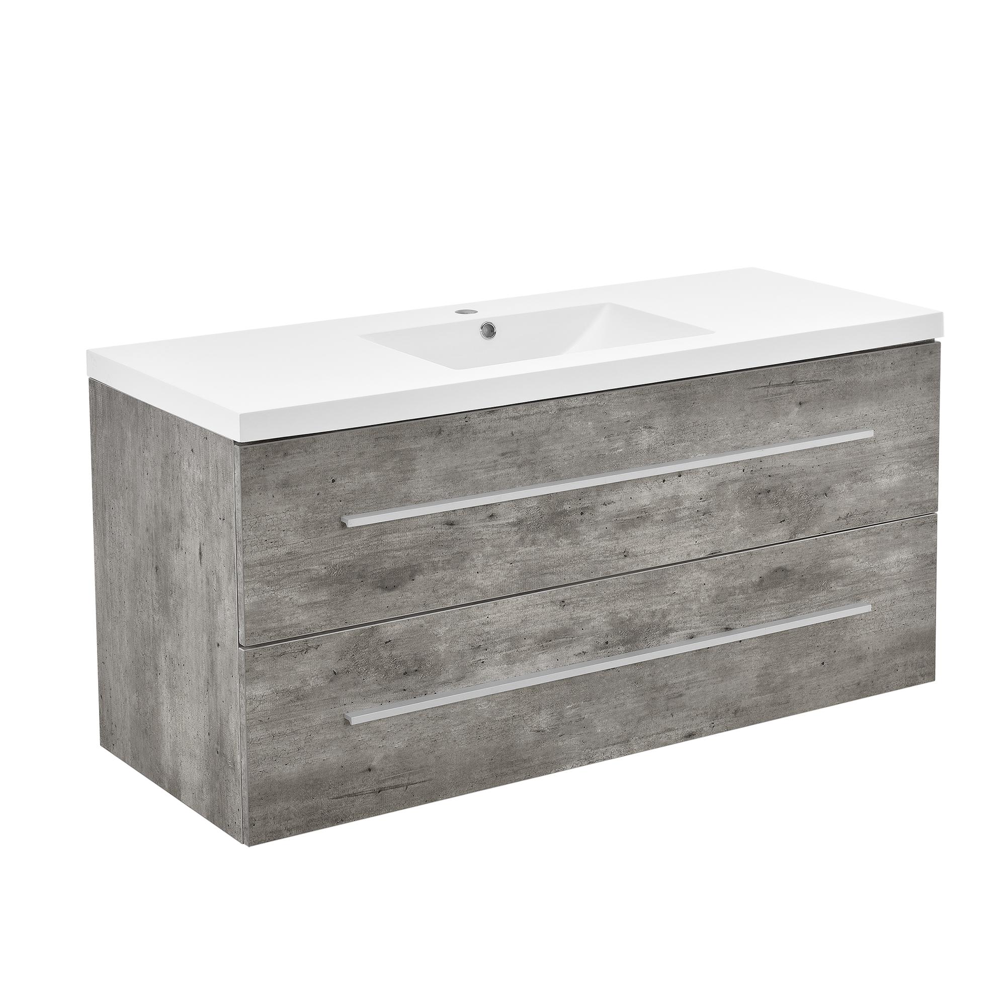 Armadio da bagno armadio sotto lavabo cemento - Mobili bagno su ebay ...