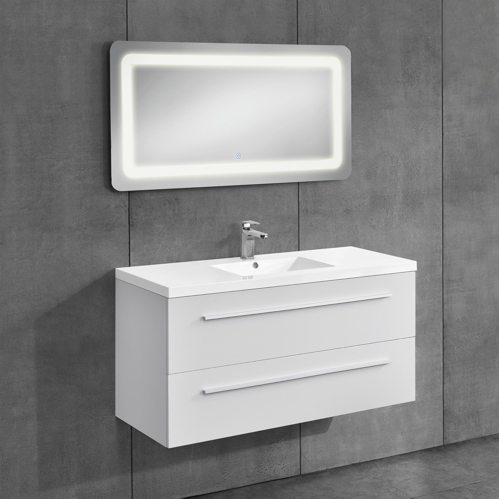 Armadio da bagno armadio sotto lavabo bianco for Armadio x bagno