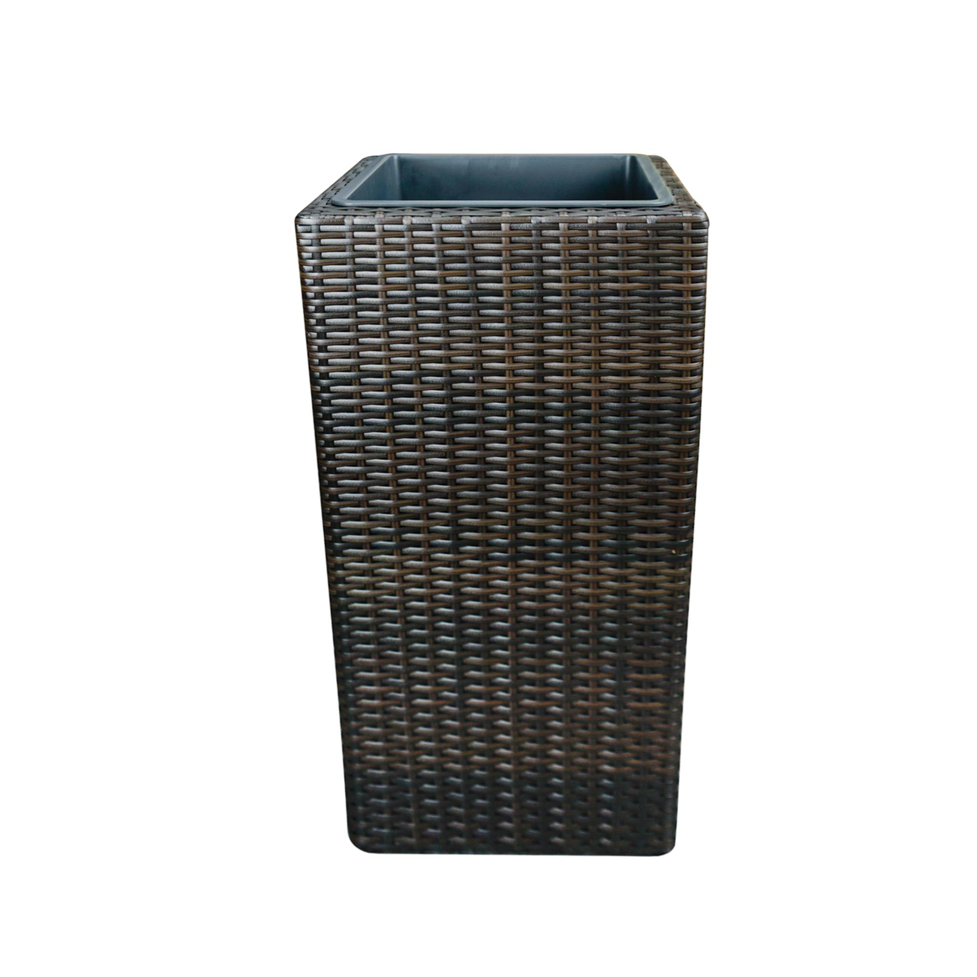 blumenk bel h42cm braun blumentopf pflanzk bel. Black Bedroom Furniture Sets. Home Design Ideas