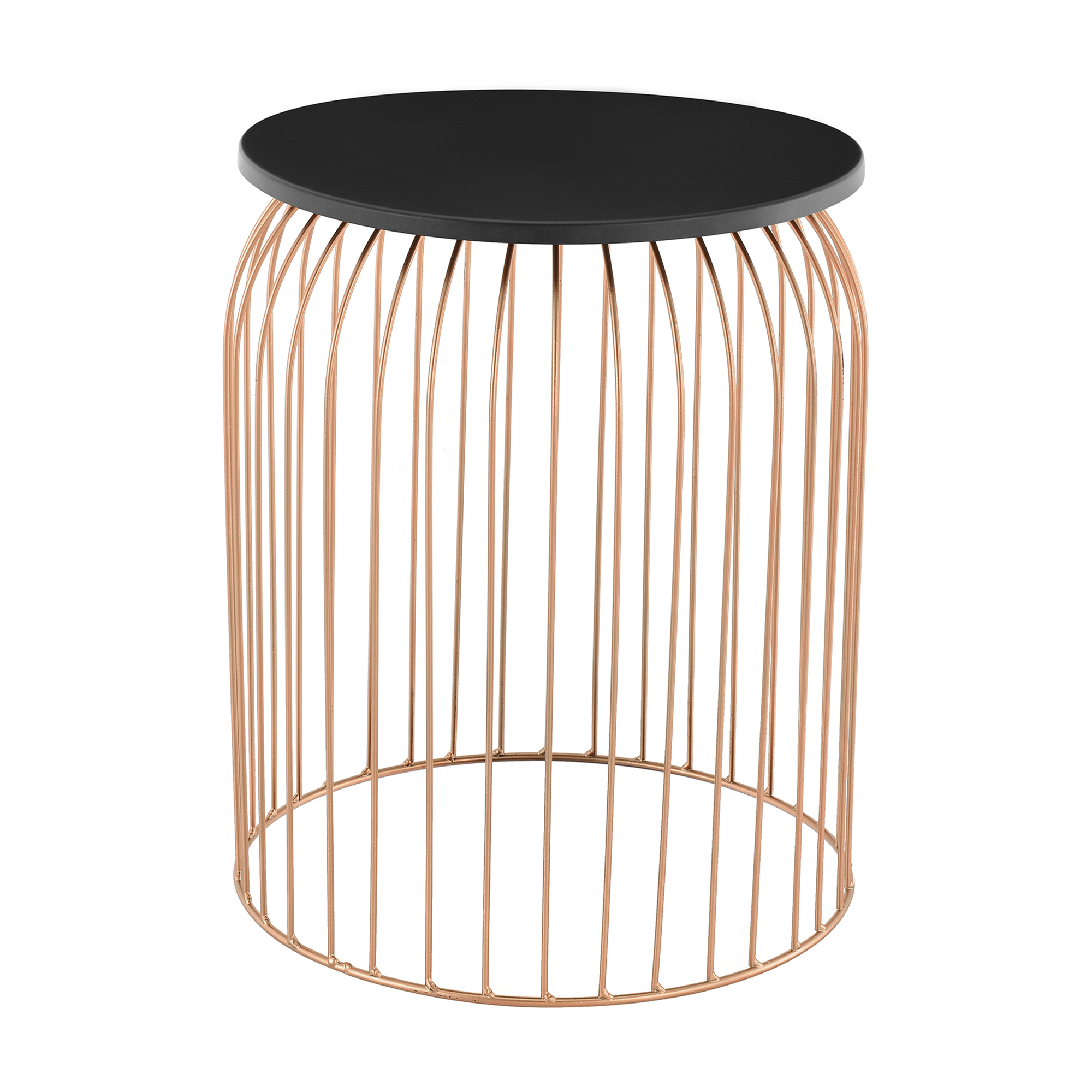 set of 3 metal basket side table wire base. Black Bedroom Furniture Sets. Home Design Ideas