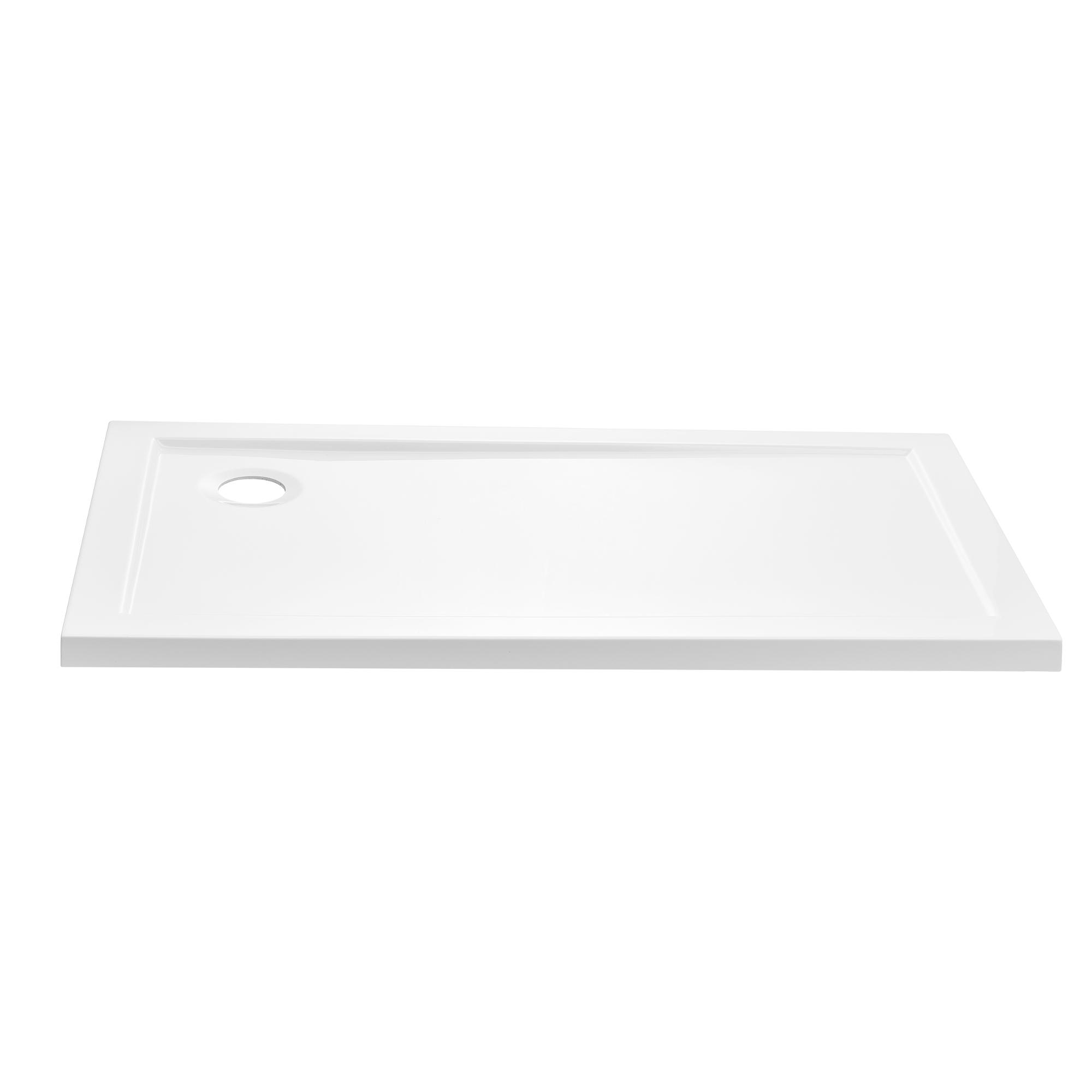 duschwanne 80x140 cm reinwei duschtasse rechteckig extra flach bad ebay. Black Bedroom Furniture Sets. Home Design Ideas