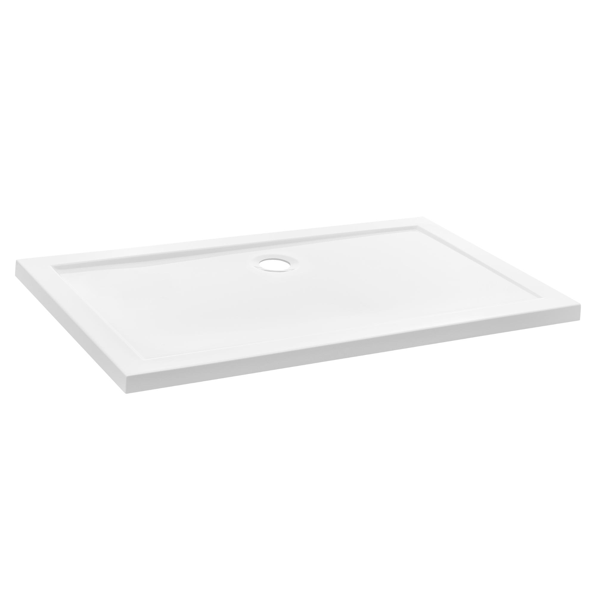 duschwanne 80x120 cm reinwei duschtasse rechteckig extra flach bad ebay. Black Bedroom Furniture Sets. Home Design Ideas