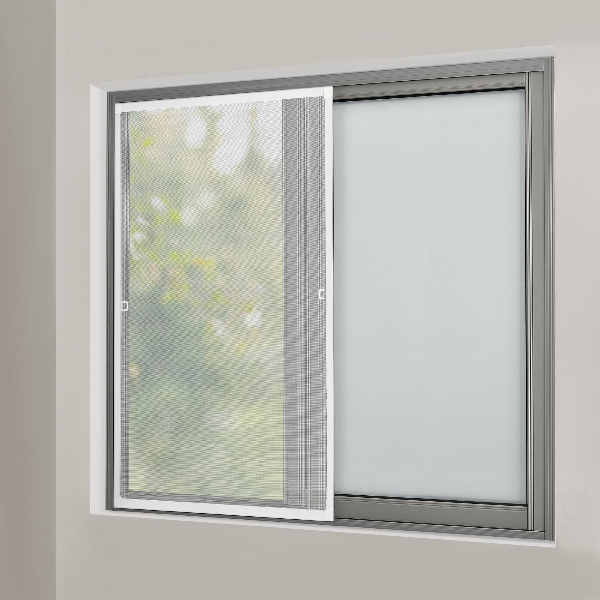 Zanzariera telaio alluminio protezione insetti porta finestra griglia ebay - Griglia regolabile protezione finestre ...