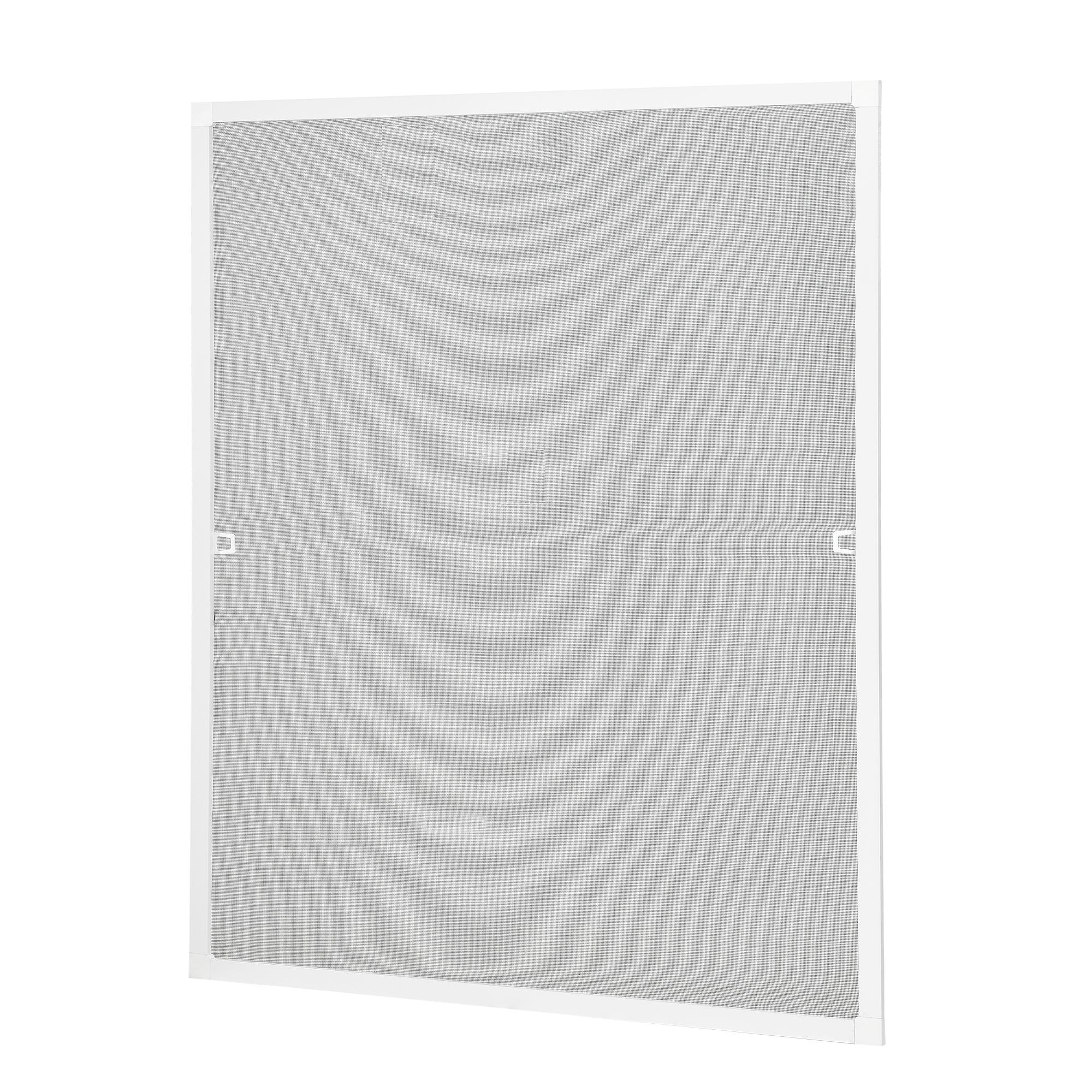 [casa.pro]® Síťka proti hmyzu 100 x 120 cm - hliníkový rám - bílý