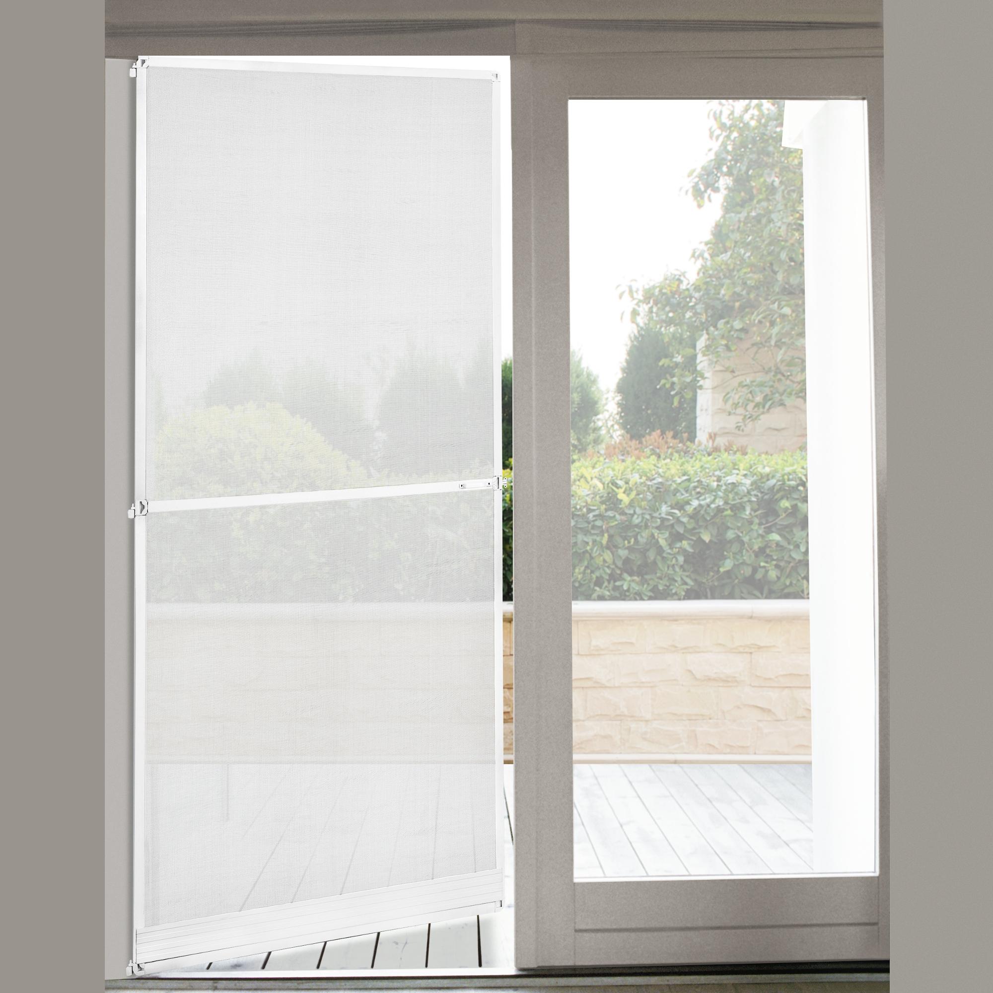 fliegengitter t r alurahmen 100 x 210 cm braun insektenschutz gitter ebay. Black Bedroom Furniture Sets. Home Design Ideas