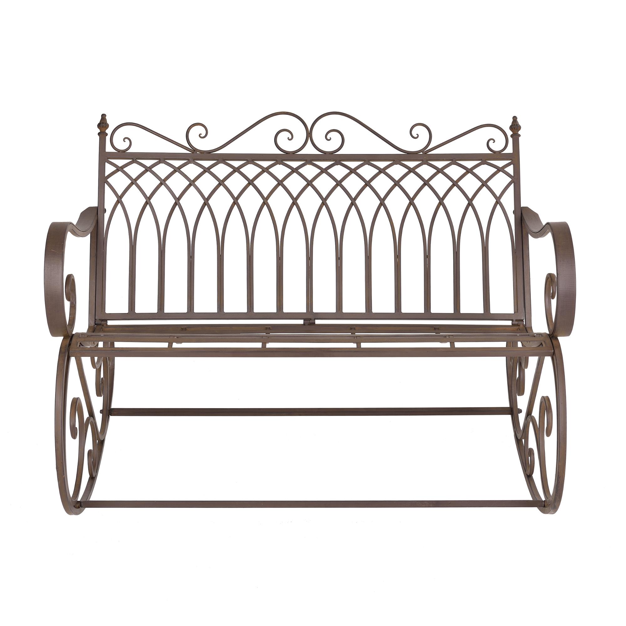 Swing Bench Garden Furniture Metal Iron Ebay