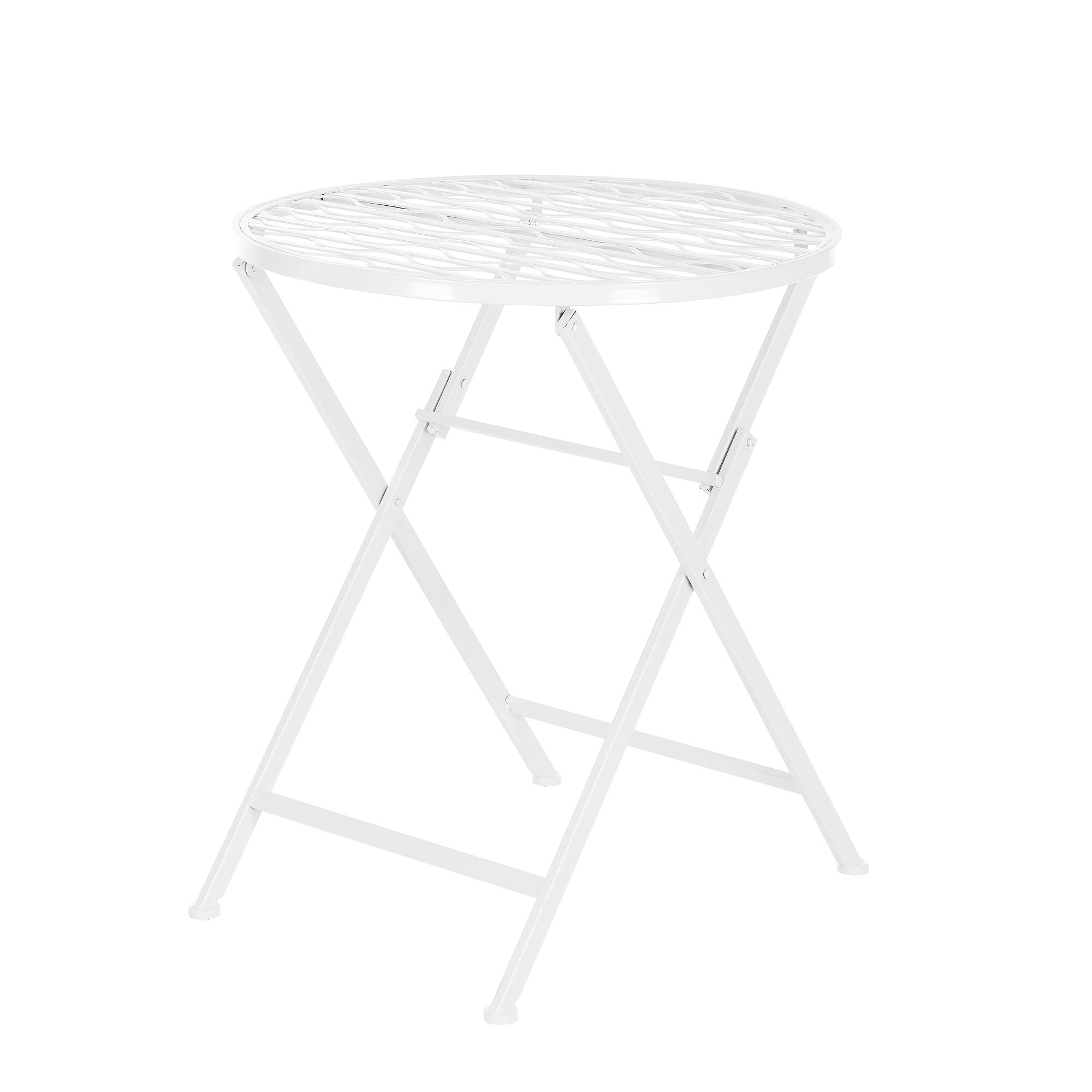 Détails sur Bistrot Set Table 2 Chaises Ensemble de Jardin/Salon Sièges  Meubles Jardin Métal