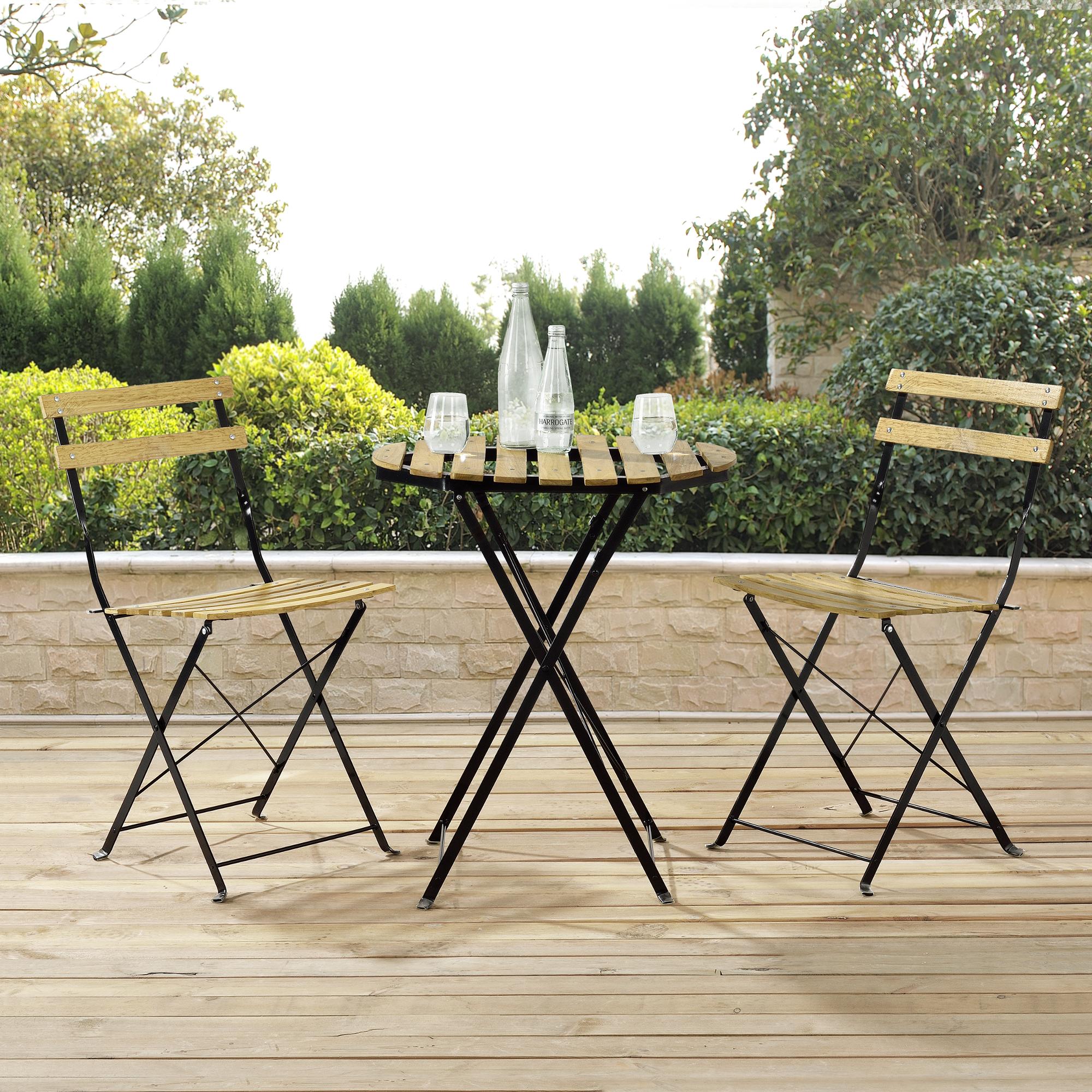 bistro set tisch 2 st hle essgruppe sitzgruppe. Black Bedroom Furniture Sets. Home Design Ideas