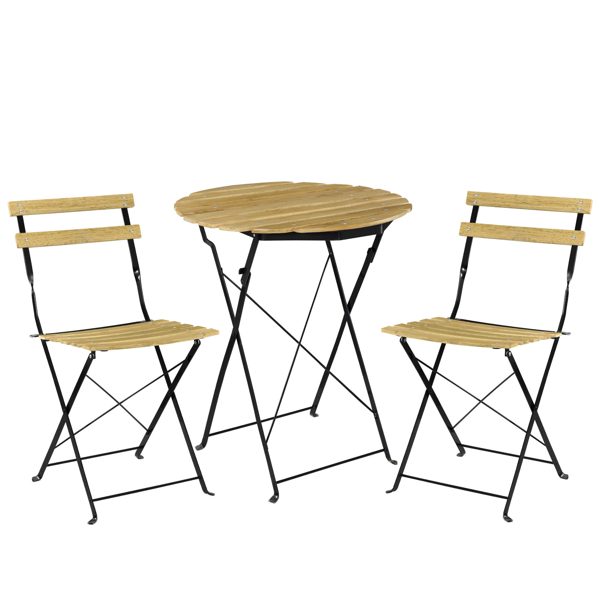 Bistro set table 2 chairs dining area seating - Casa mobilier jardin ...
