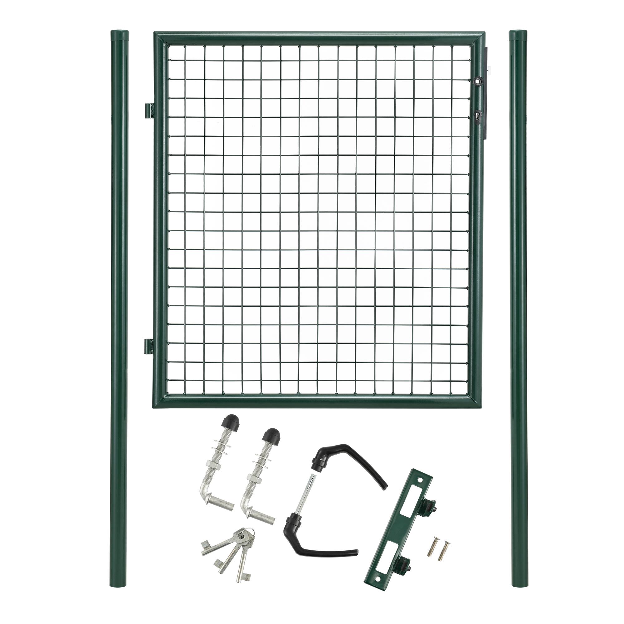 gartent r 150x106 gr n gartentor zaunt r. Black Bedroom Furniture Sets. Home Design Ideas