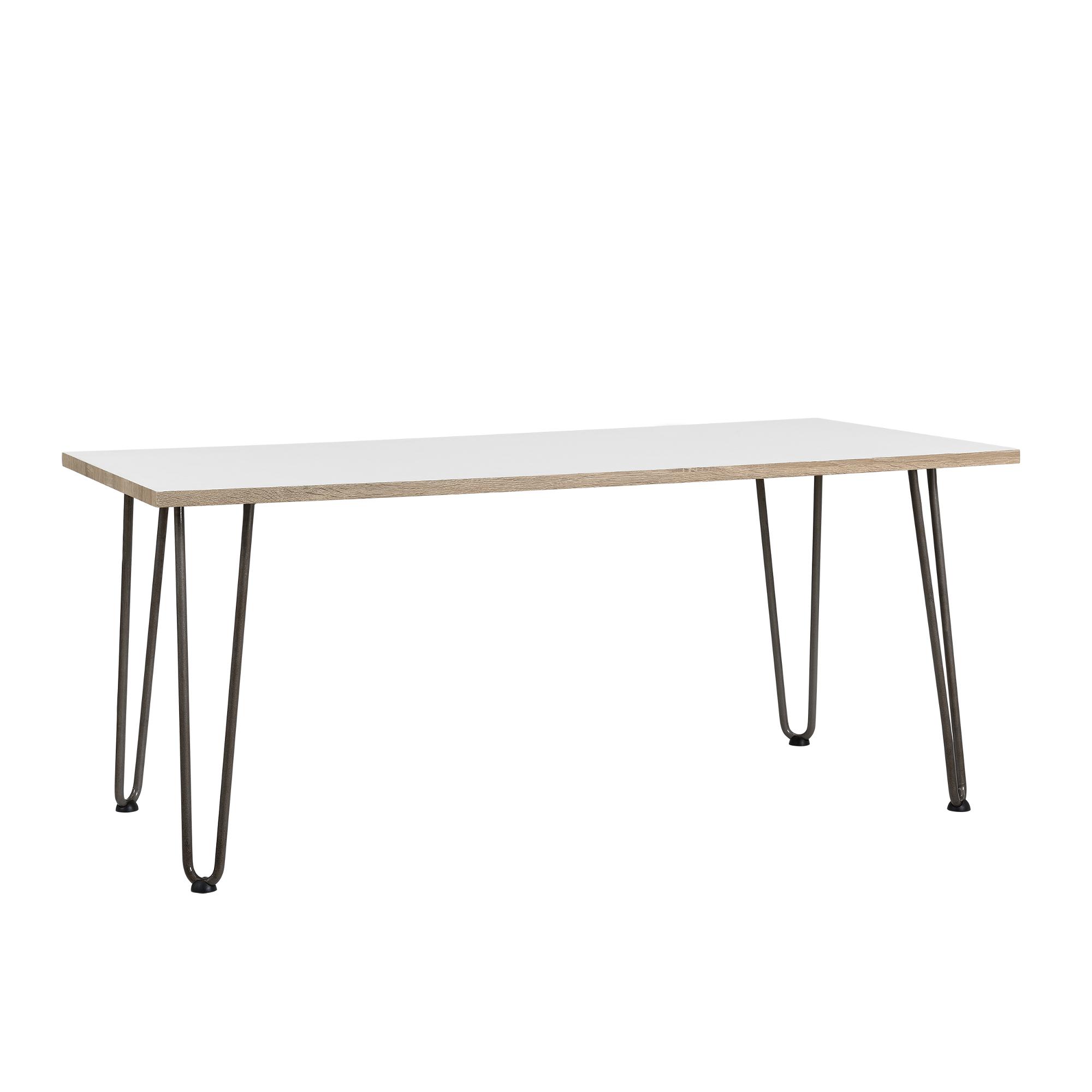 en.casa]® 4x Hairpin Leg gambe tavolo metallo DIY 40cm acciaio ...