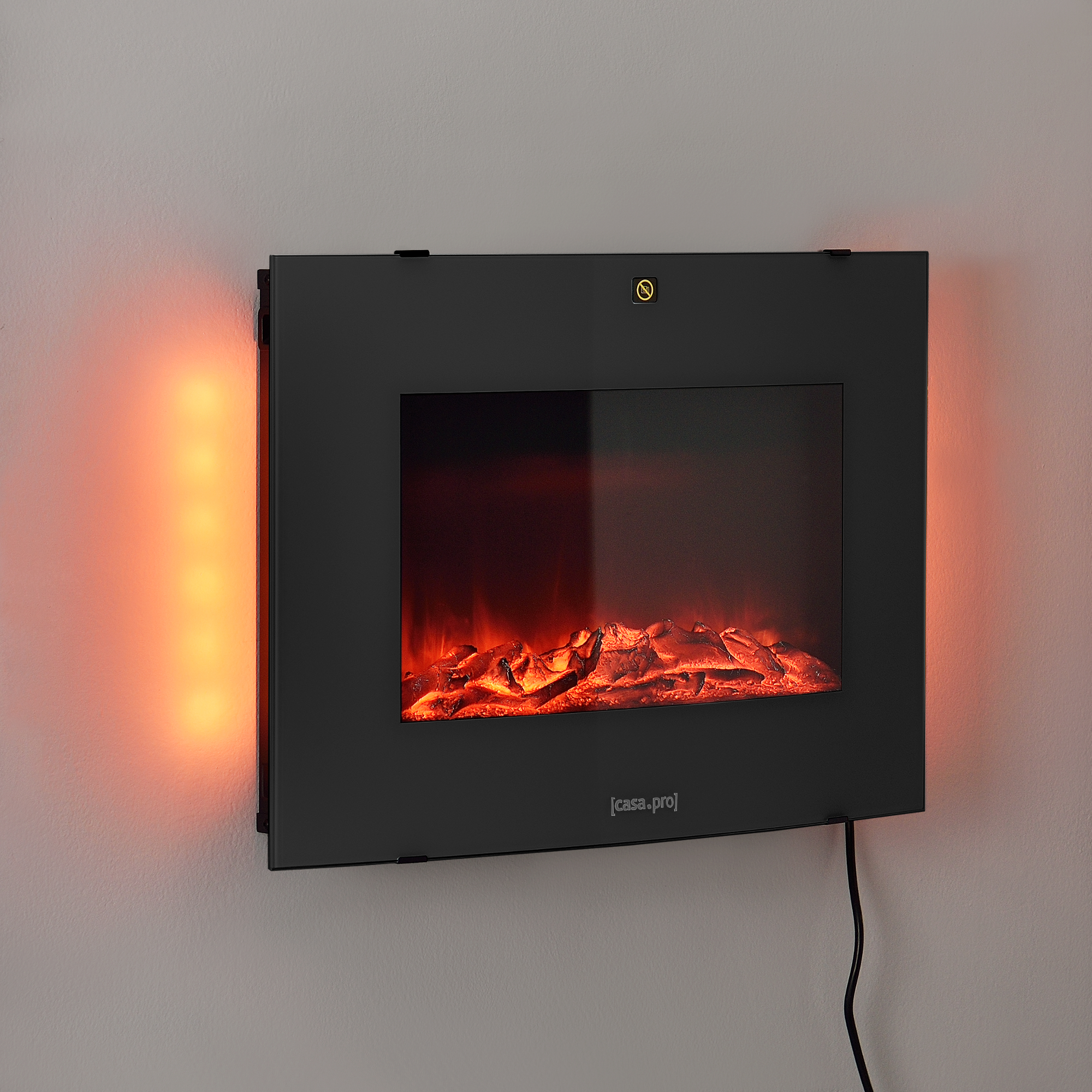 elektrischer kamin wohnzimmer kamin ofen heizung heiz l fter led beleuchtung ebay. Black Bedroom Furniture Sets. Home Design Ideas