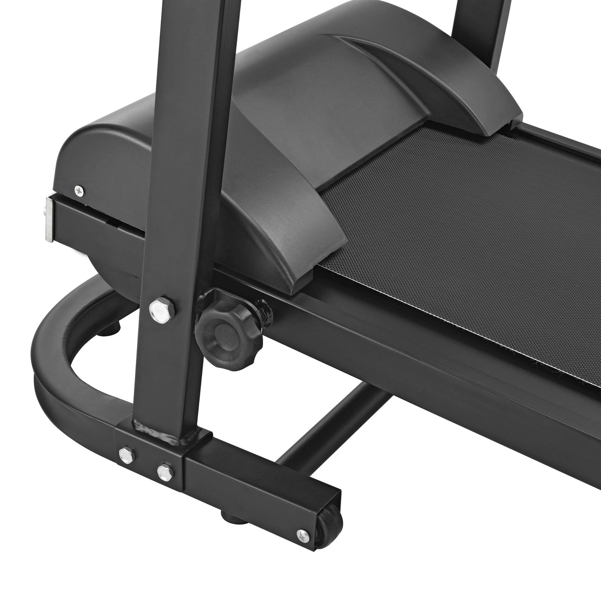 mechanisches laufband mit lcd display fitnessger t klappbar heimtrainer ebay. Black Bedroom Furniture Sets. Home Design Ideas