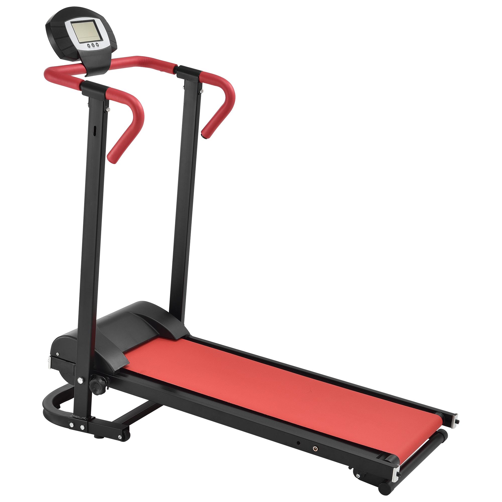 In-Tec-manualmente-tapis-roulant-con-LCD-Display-Fitness-Cyclette-pieghevole