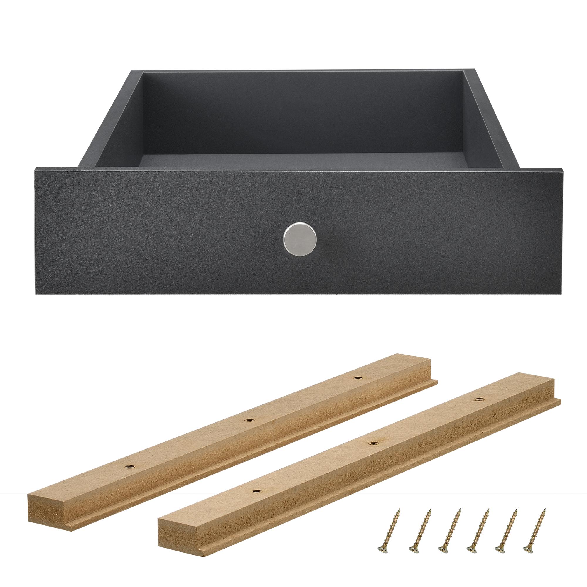 4x schublade f r europaletten regal kommode. Black Bedroom Furniture Sets. Home Design Ideas