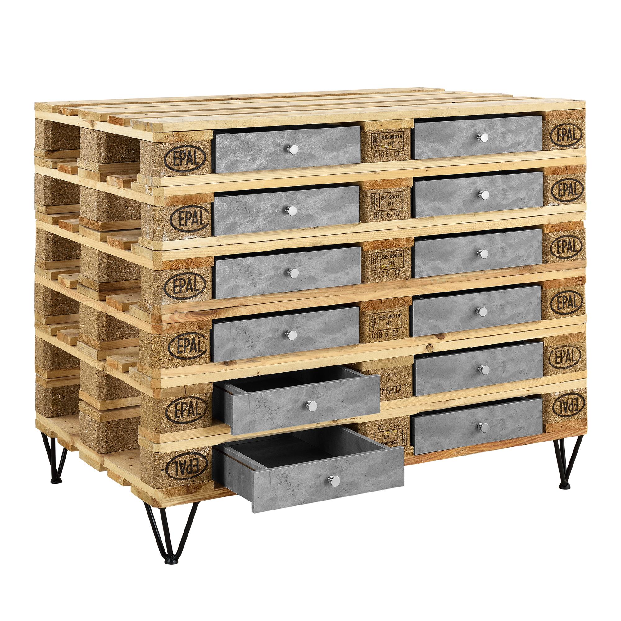 comptoir pour meuble de palette mdf b ton ebay. Black Bedroom Furniture Sets. Home Design Ideas