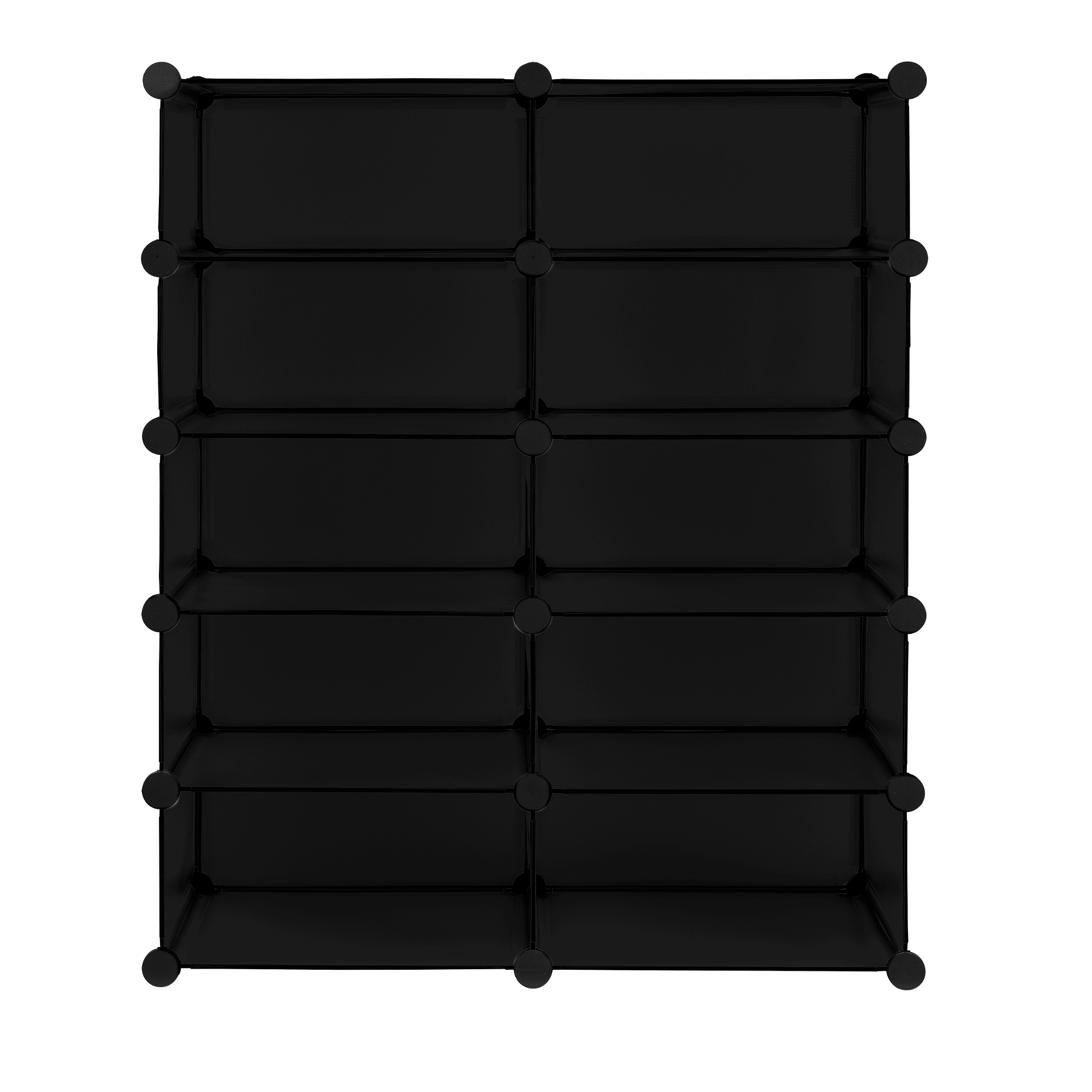 system regal schrank 90x73cm garderobe steck boxen schuh kleider diy ebay. Black Bedroom Furniture Sets. Home Design Ideas