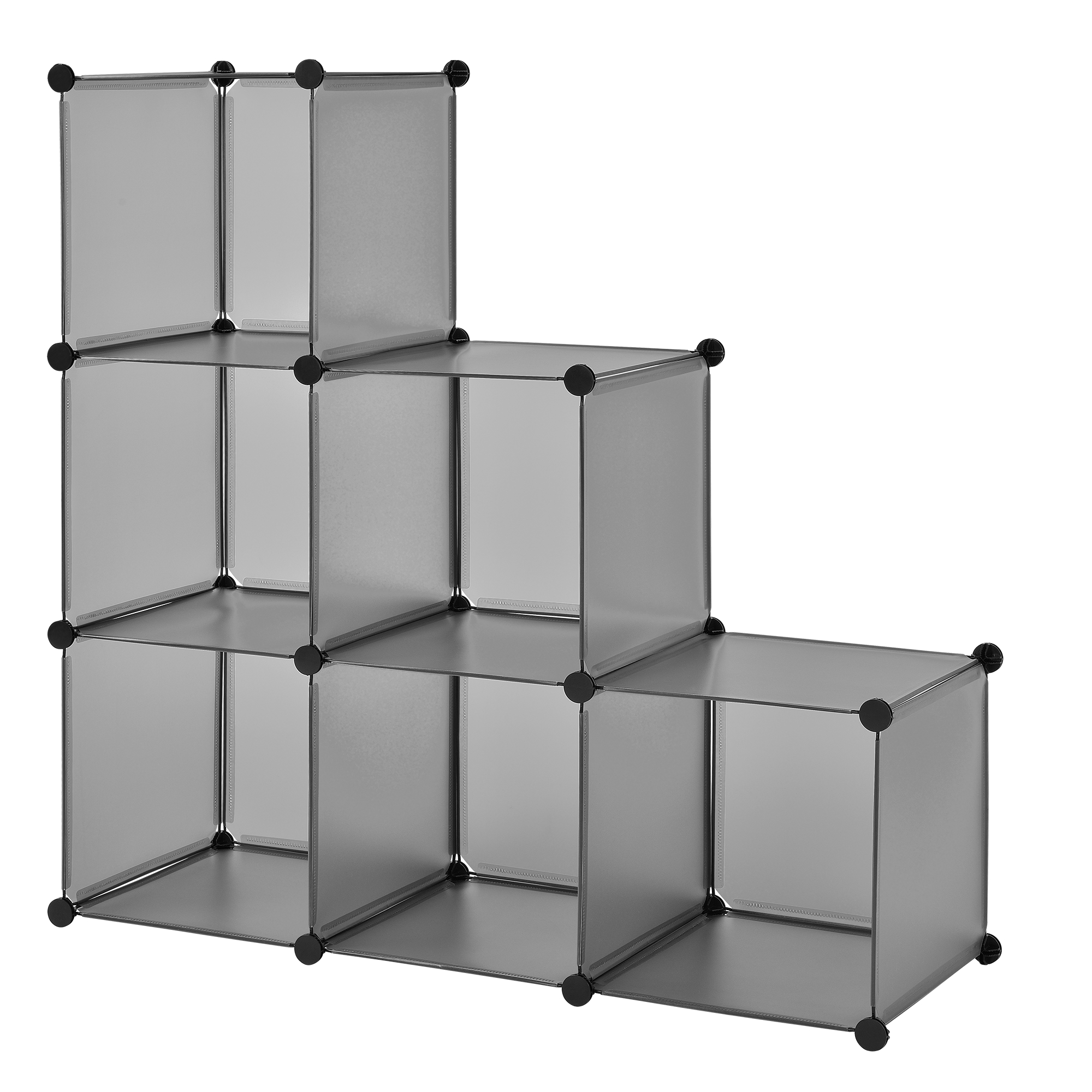 diy system regal schrank 110x110cm garderobe steck bad kleider wand ebay. Black Bedroom Furniture Sets. Home Design Ideas