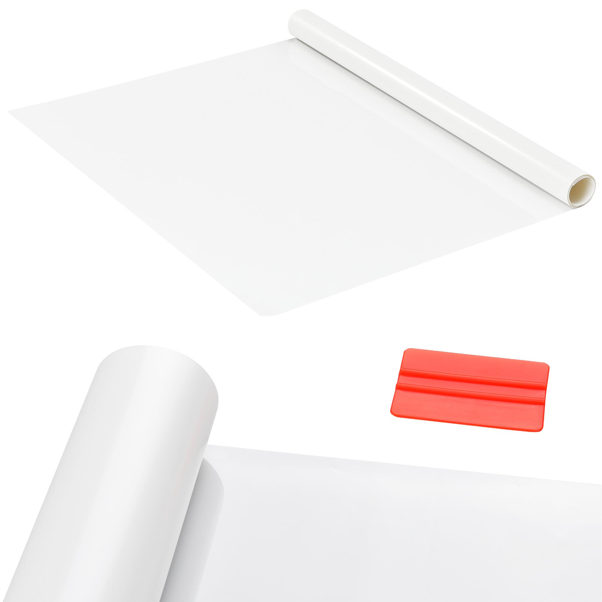 casao] Sichtschutzfolie selbstklebend statisch Milchglasfolie