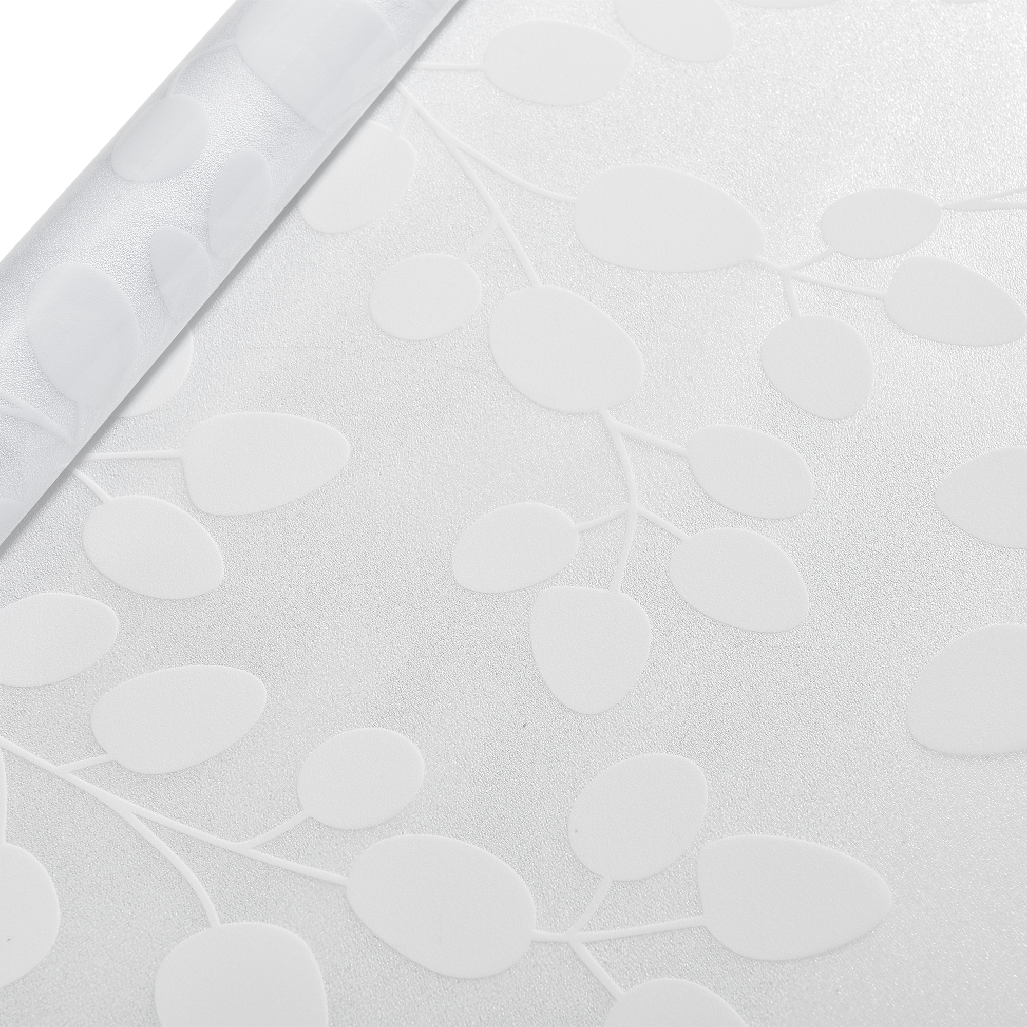casao] Sichtschutzfolie Milchglas Blätter 50 cm x 1 m