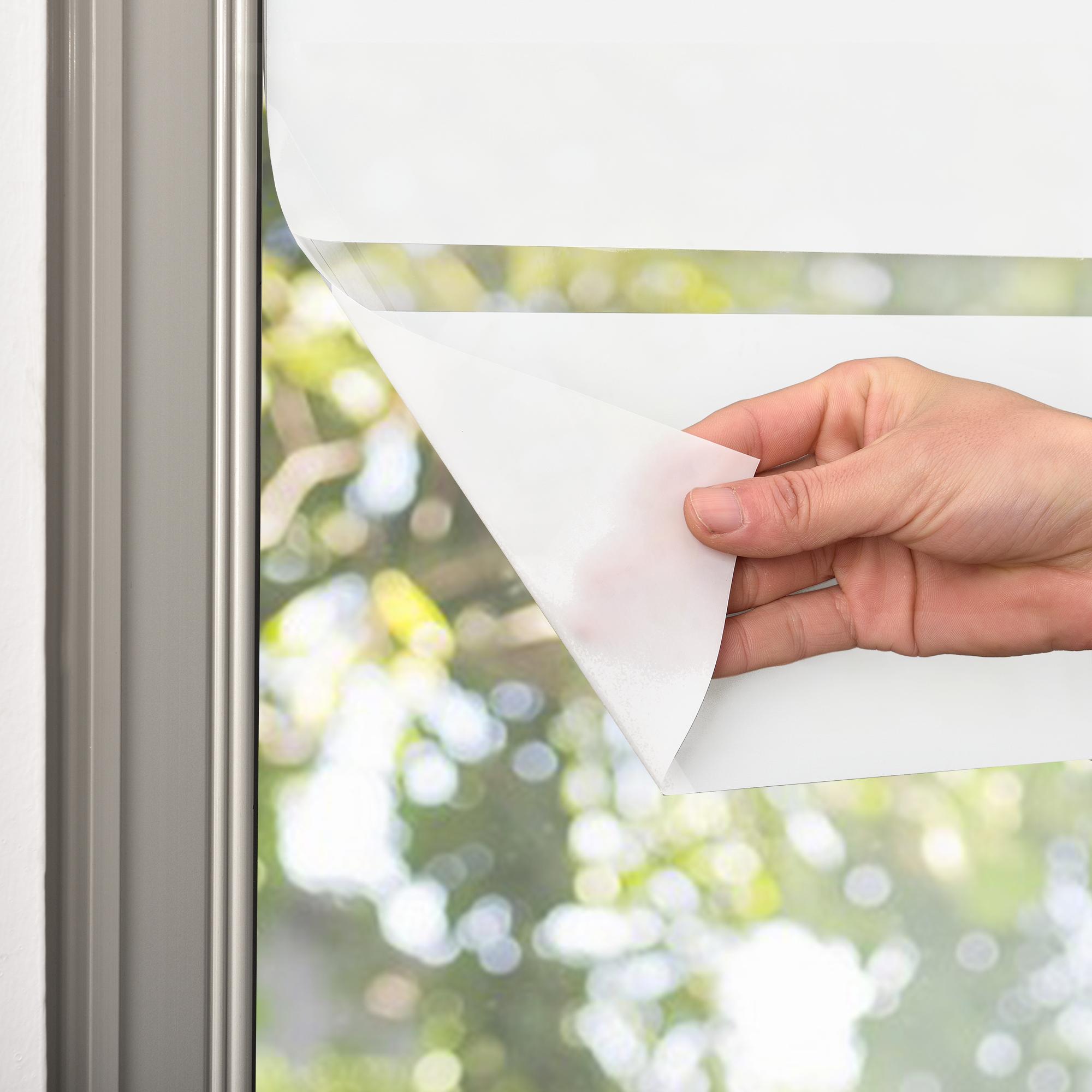 casao] Sichtschutzfolie Milchglas Linien 67 5 cm x 3 m