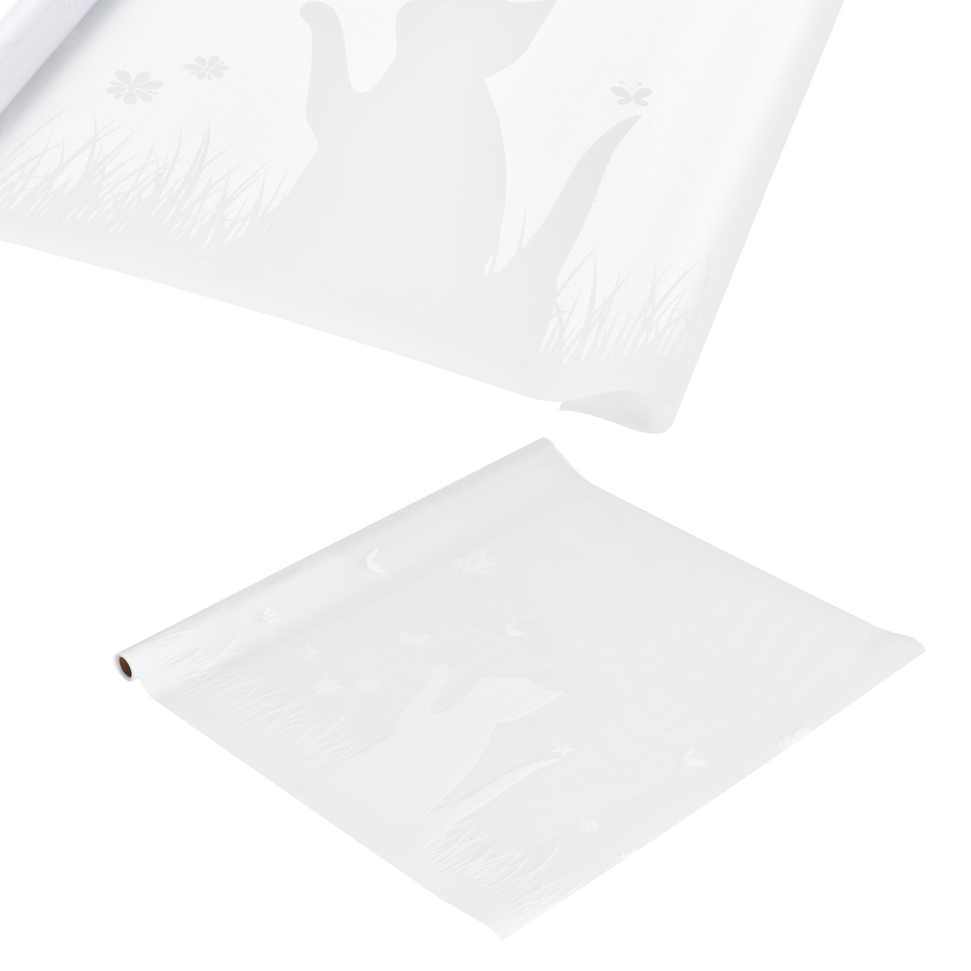 [casa.pro]® Privátní fólie na sklo - statická - 67,5cmx50m - motiv kočky