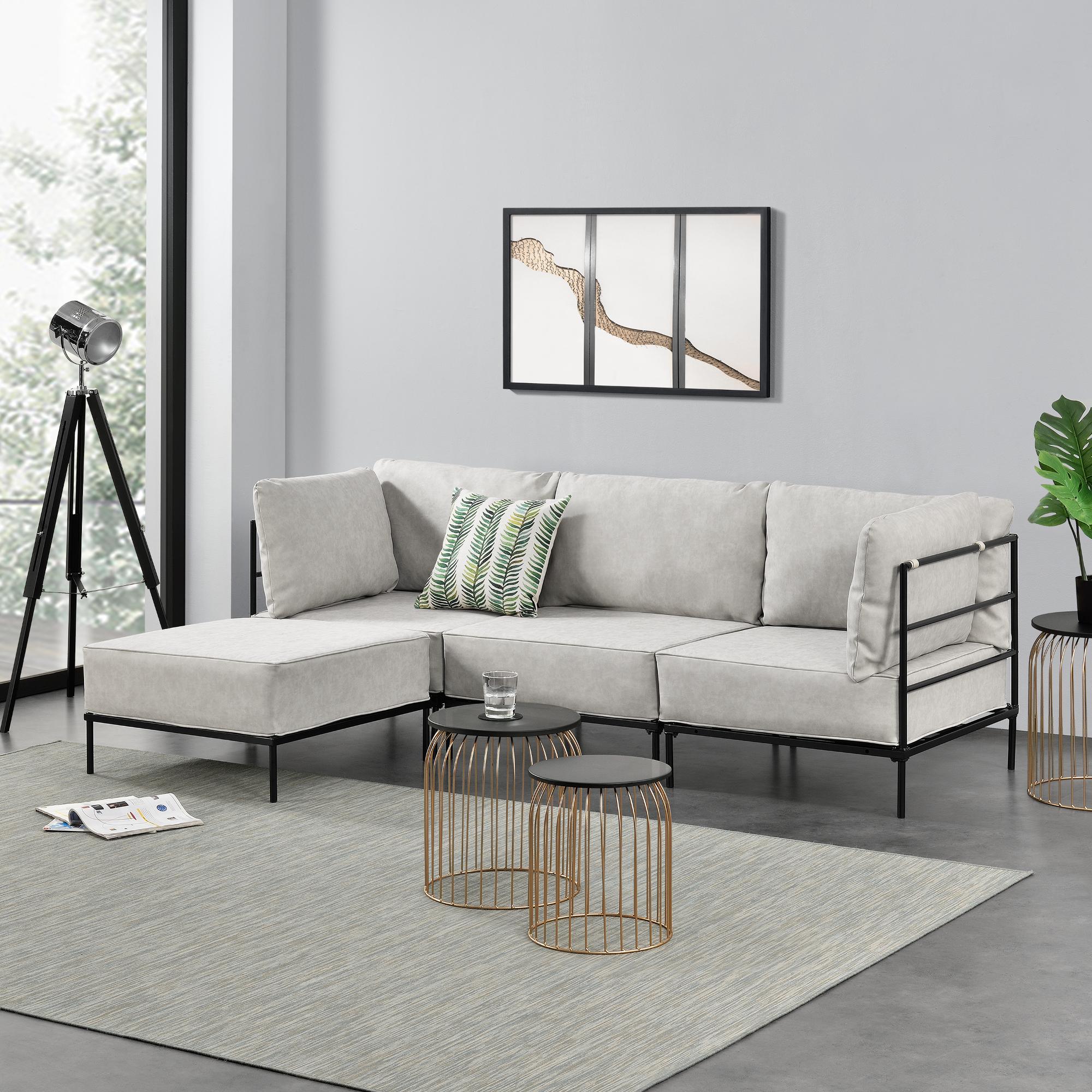 Ecksofa sofa couch eckcouch polstergarnitur for Casas de sofas en barcelona