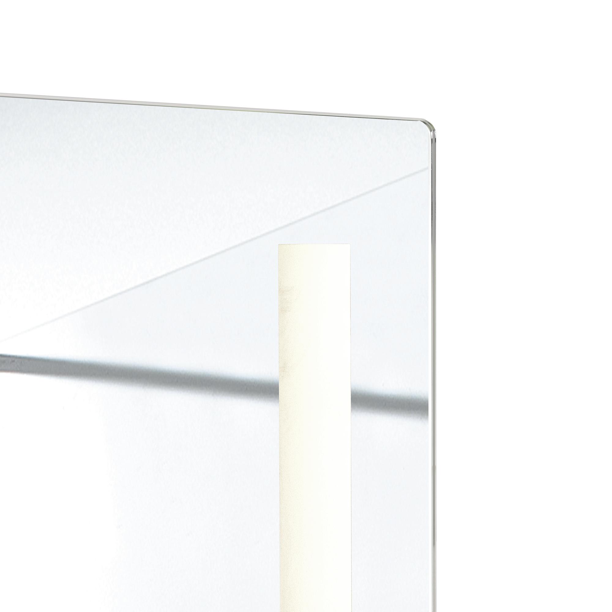 Casa design led specchio muro 160x45cm corpo intero luce - Specchio intero ...