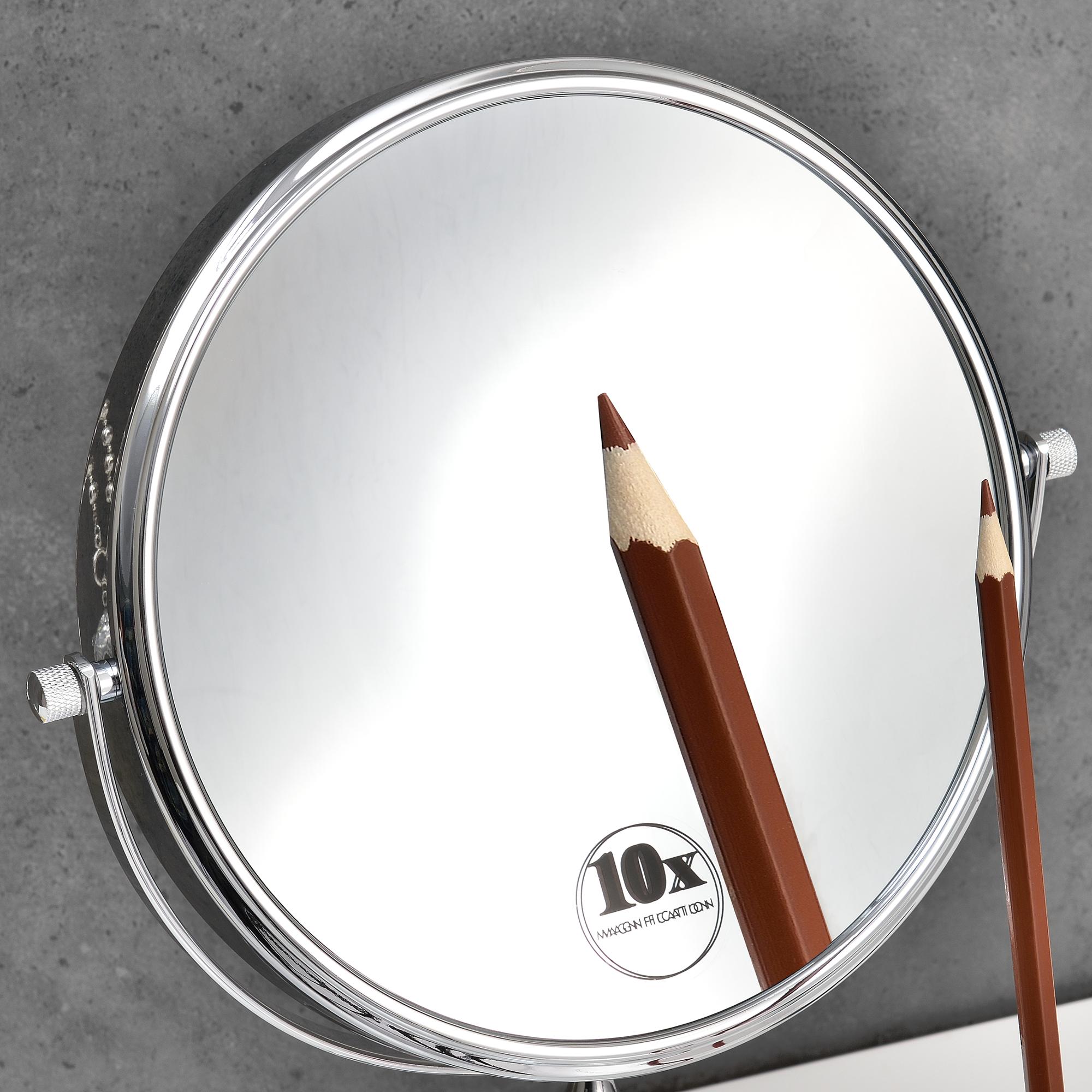 Specchio cosmetico 8 per trucco specchio make up ingrandimento 10 x ebay - Specchio make up ...