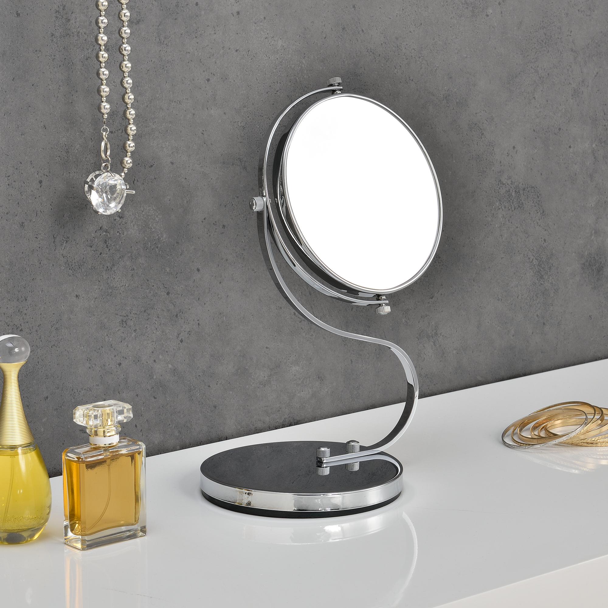Specchio cosmetico 6 per trucco specchio make up ingrandimento 10 x ebay - Specchio make up ...