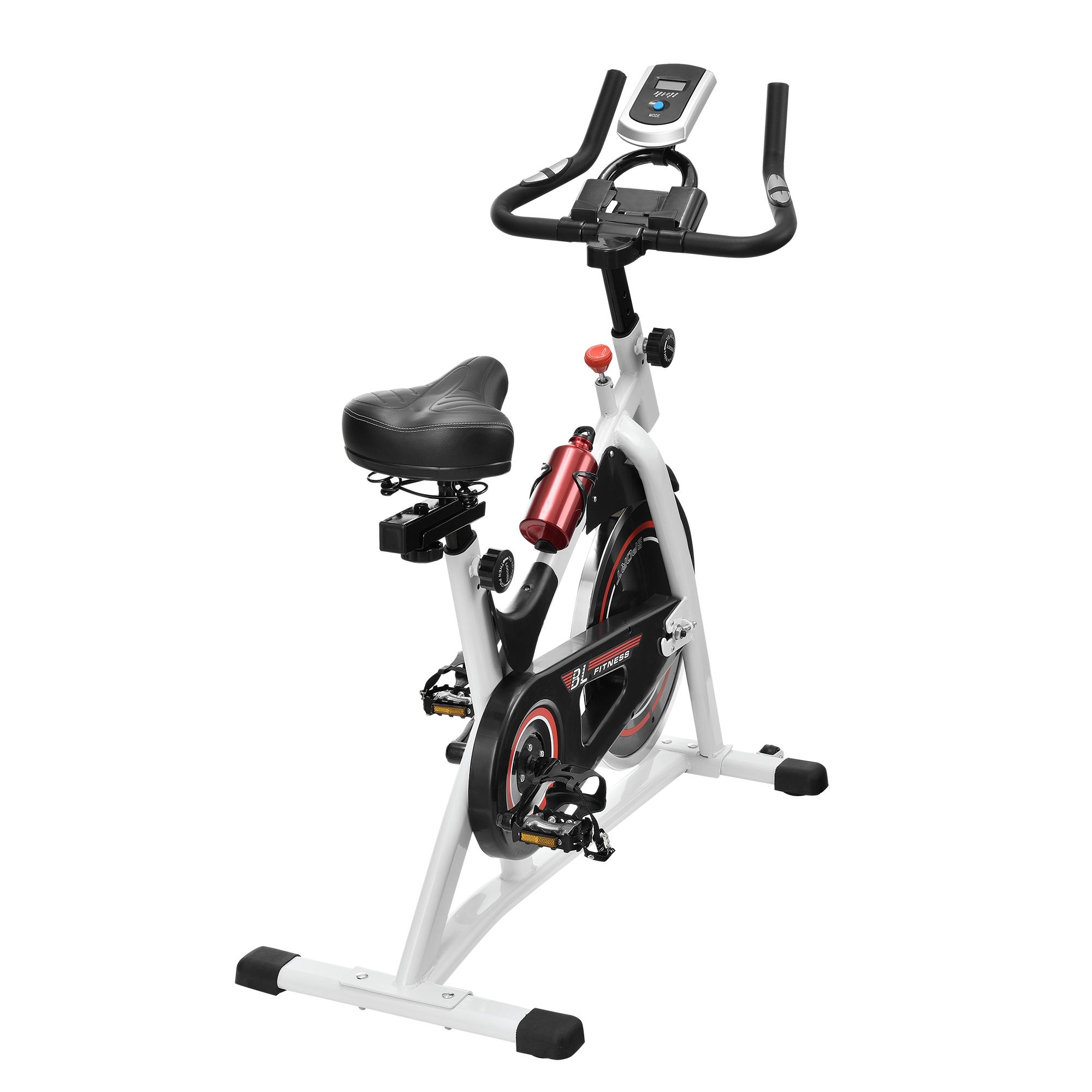 heimtrainer fahrrad fitness bike trimmrad indoor cycling rad sattel. Black Bedroom Furniture Sets. Home Design Ideas