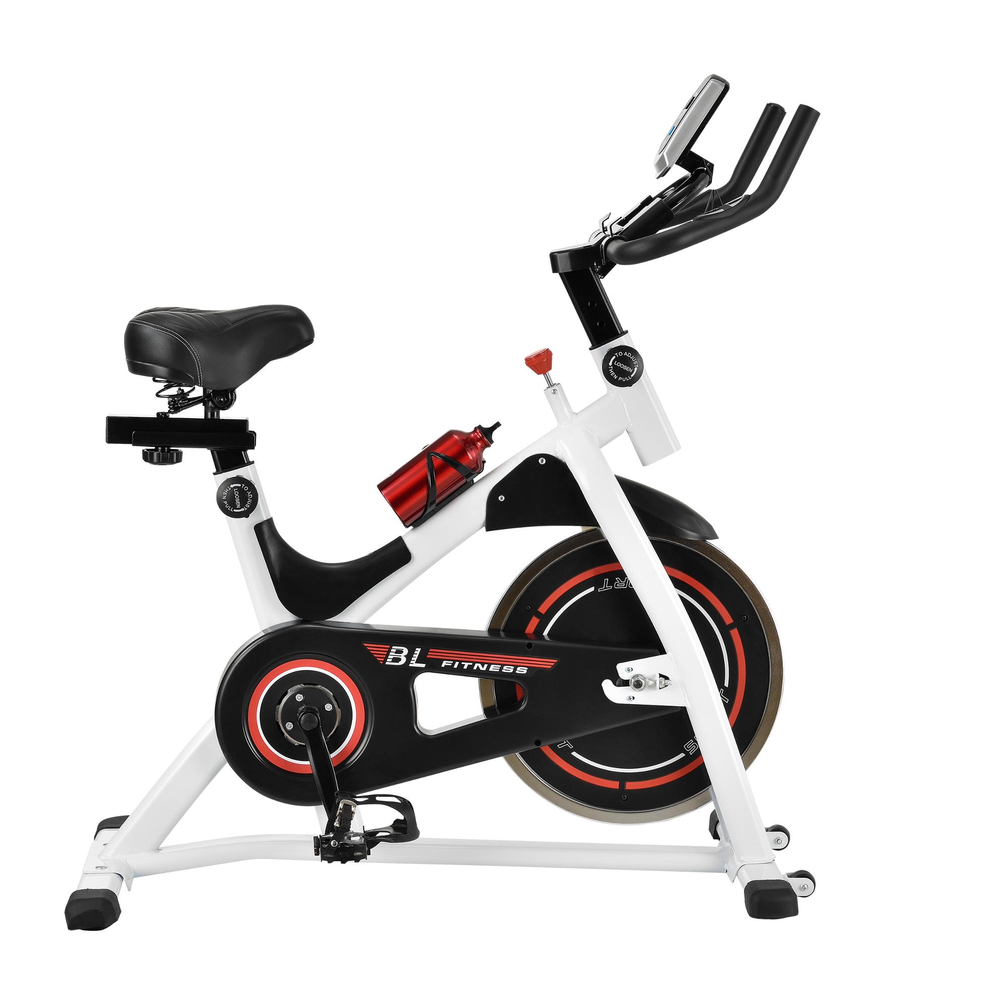 heimtrainer fahrrad fitness bike trimmrad indoor cycling rad sattel ebay. Black Bedroom Furniture Sets. Home Design Ideas