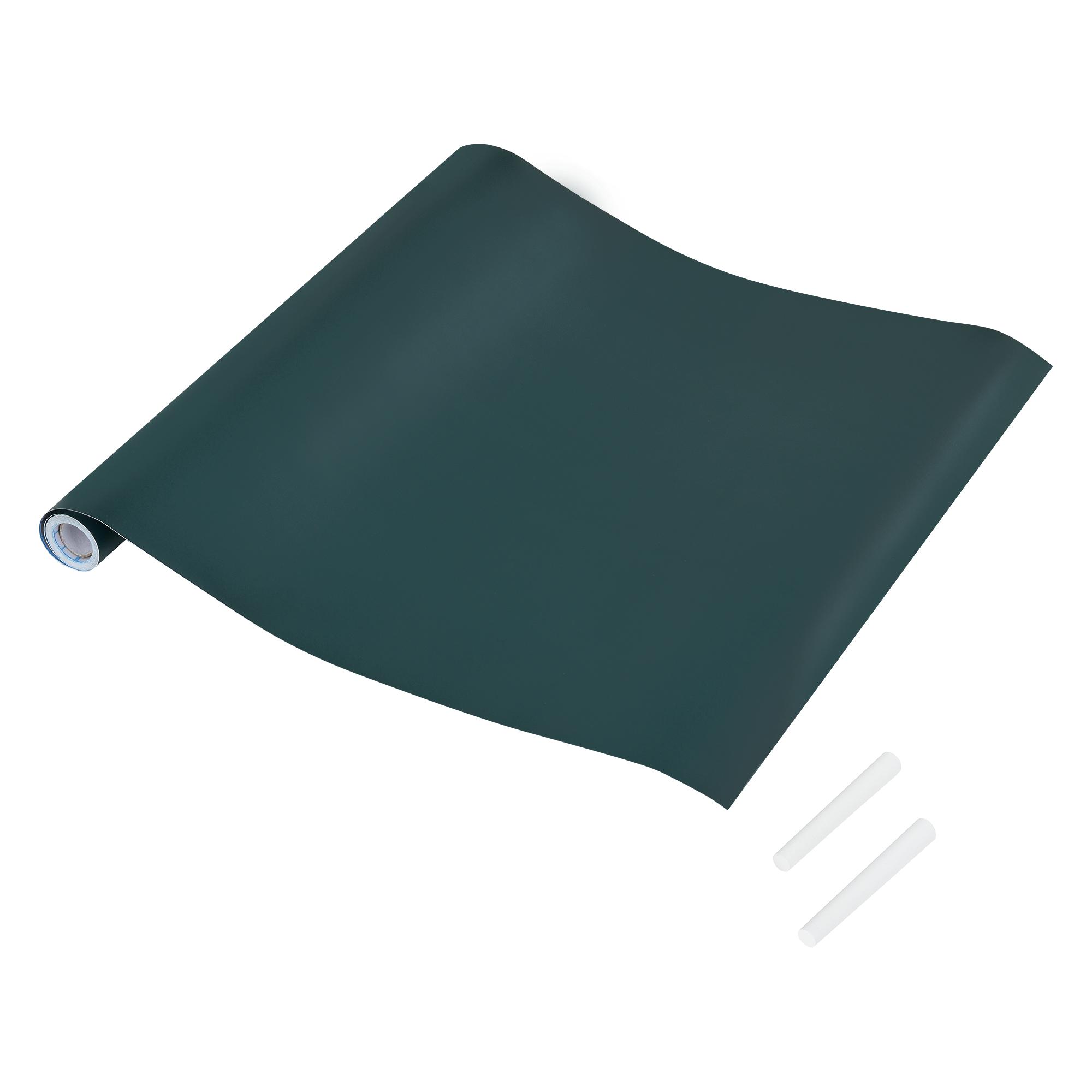 tafelfolie schwarz gr n selbstklebend 40x300cm kreide folie wanddeko ebay. Black Bedroom Furniture Sets. Home Design Ideas