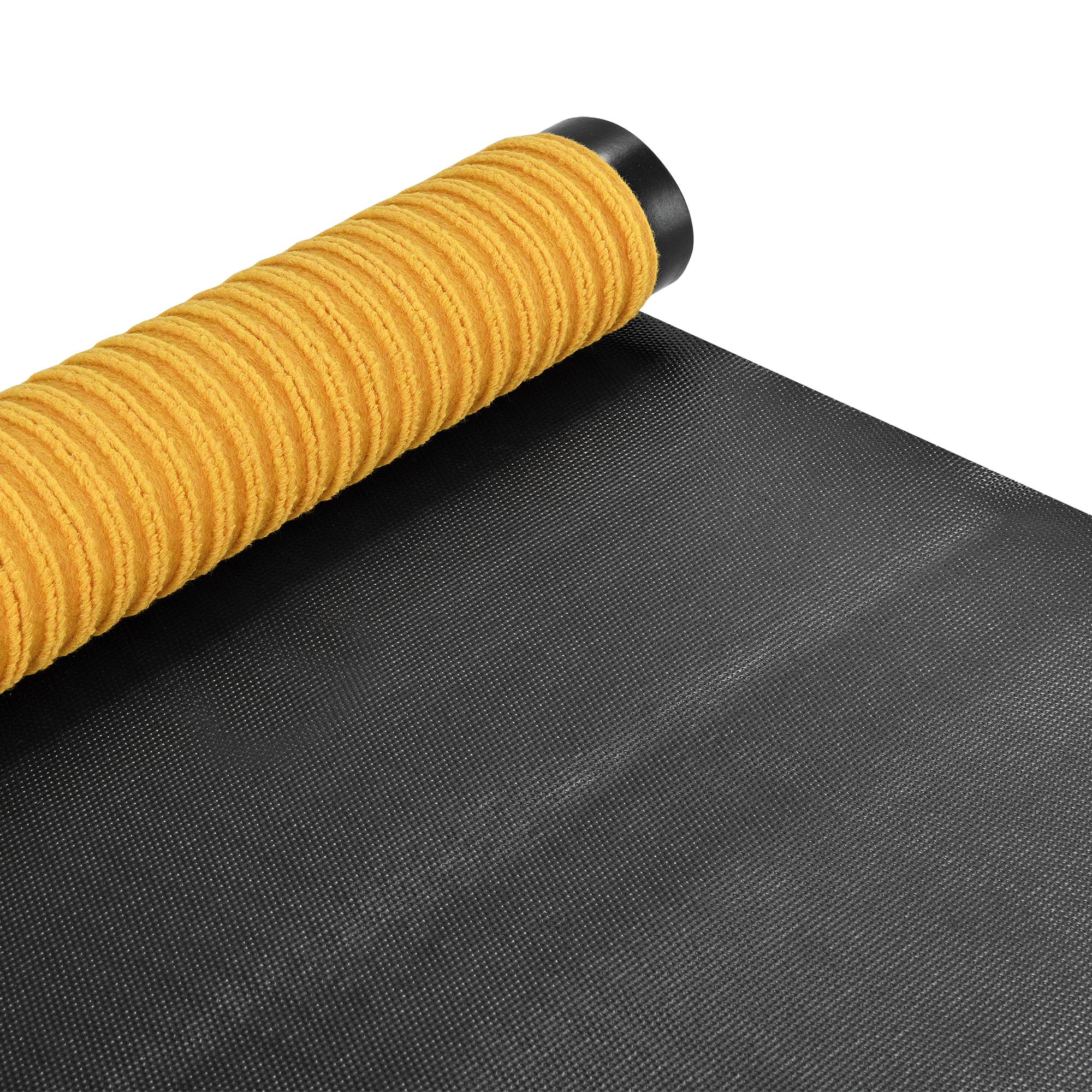 paillasson 120x90cm couleur moutarde tapis tapis de salon ebay. Black Bedroom Furniture Sets. Home Design Ideas