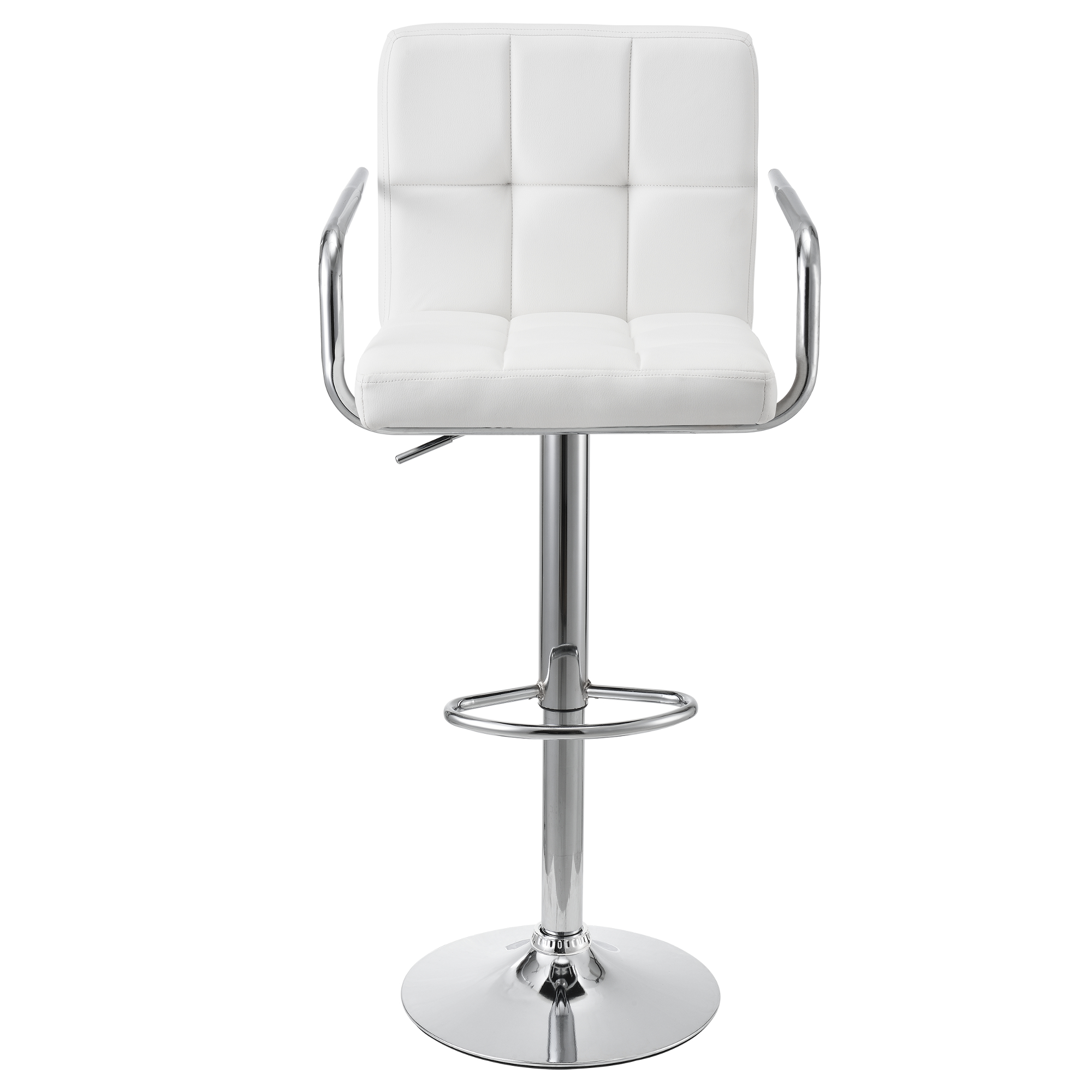 barhocker wei 2er set mit lehne tresenhocker barstuhl tresen hocker ebay. Black Bedroom Furniture Sets. Home Design Ideas