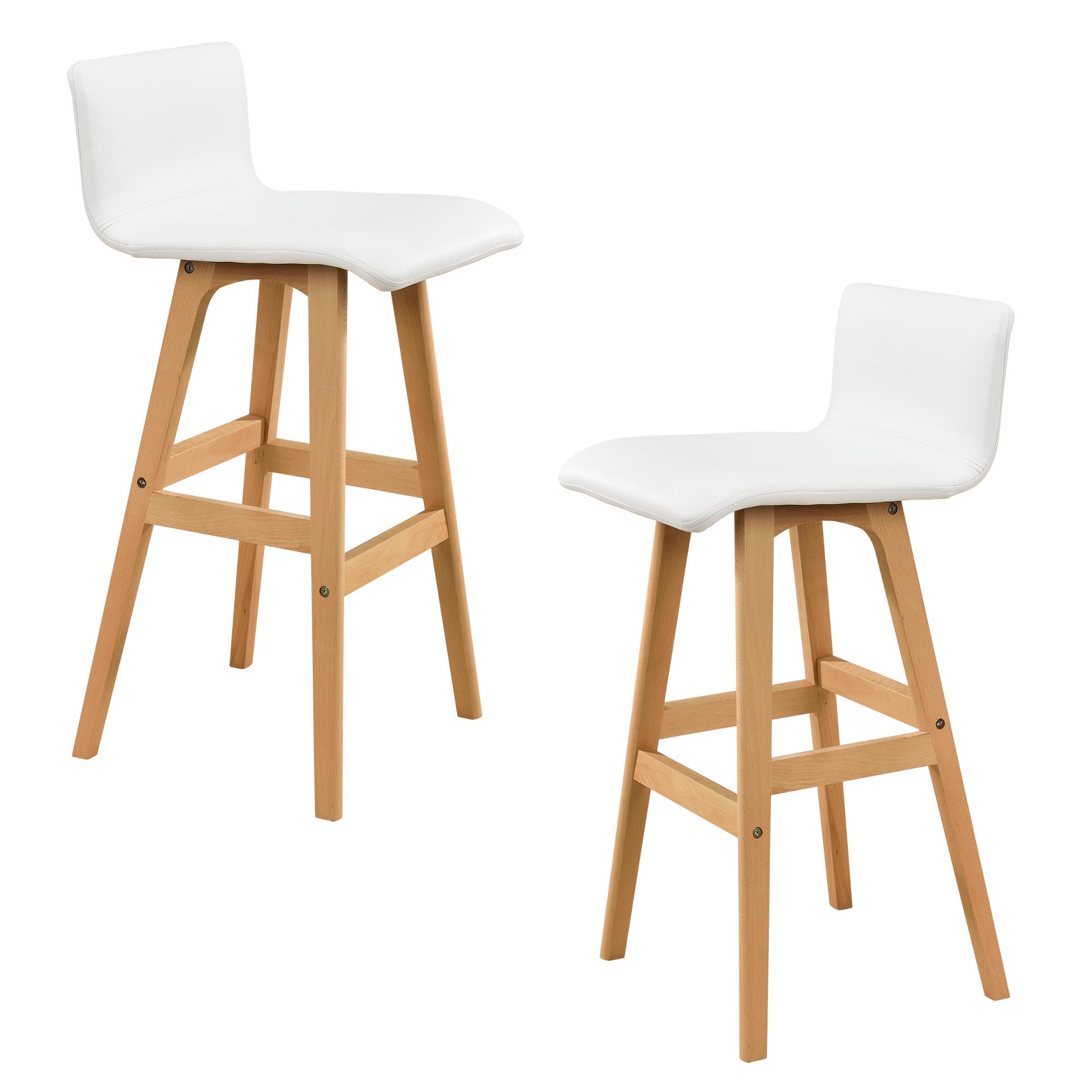 [en.casa]® Barová židle 2x HTBS-3717