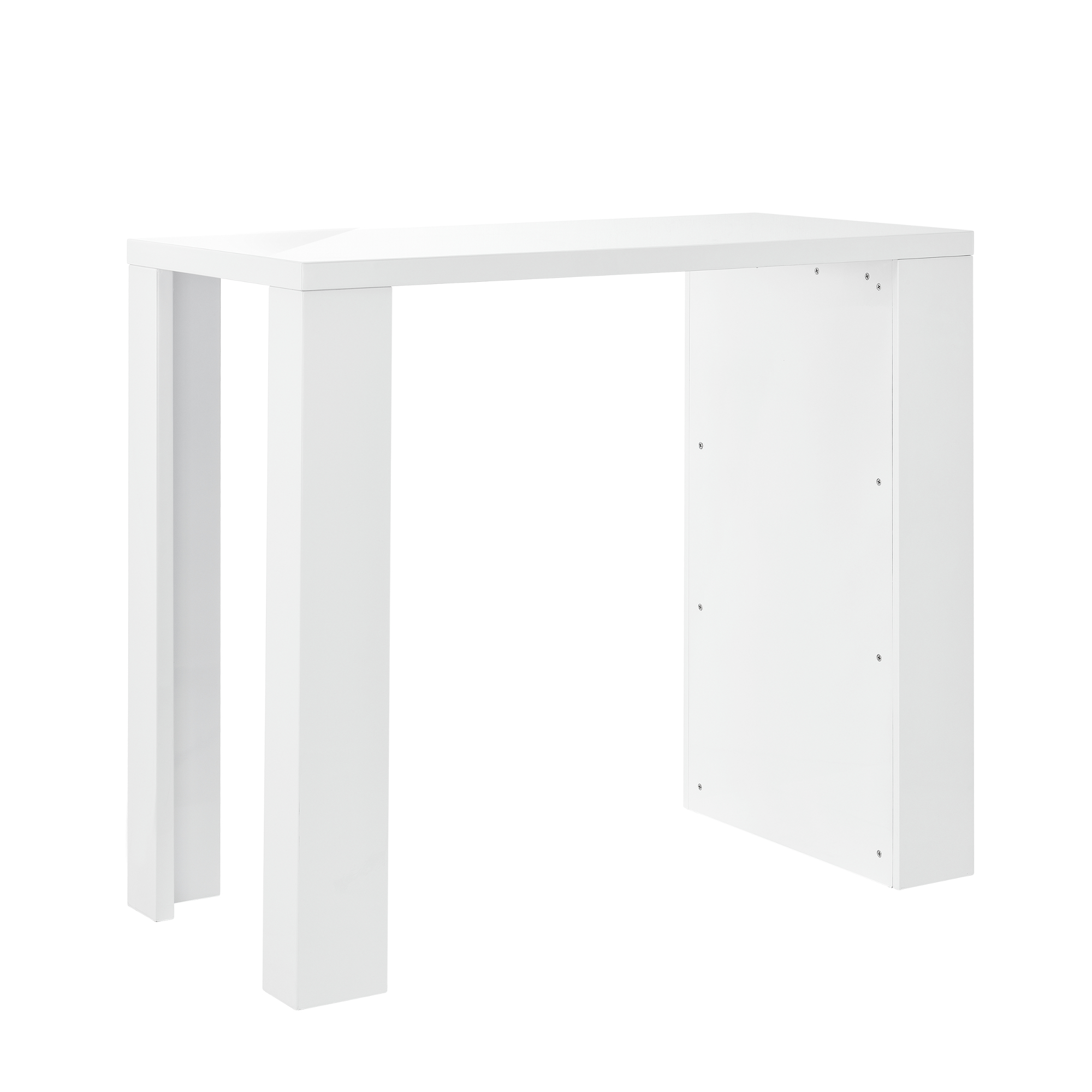 Mueble barra de bar blanco mojada mesa mostrador for Mueble barra bar