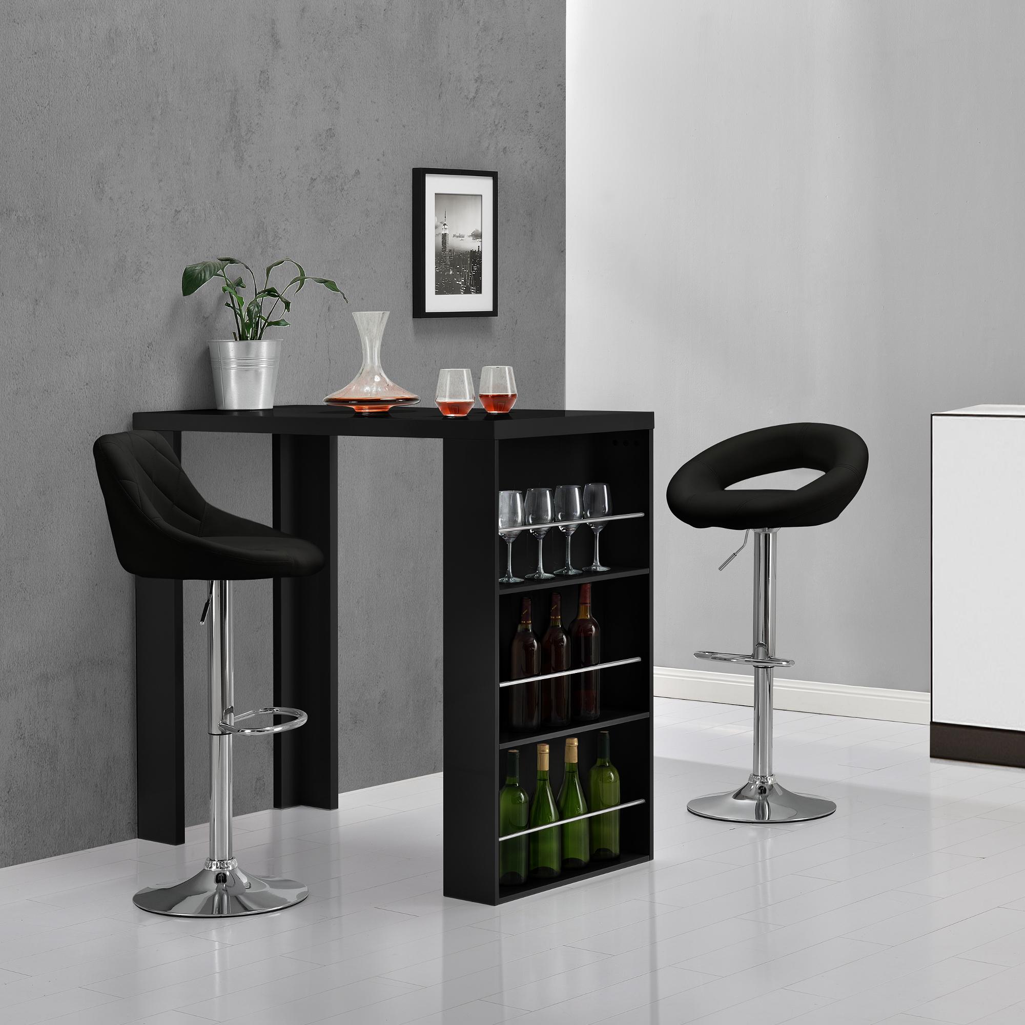 Sgabello bar setx2 rotondo sgabello sedia da bar for Bar und barhocker