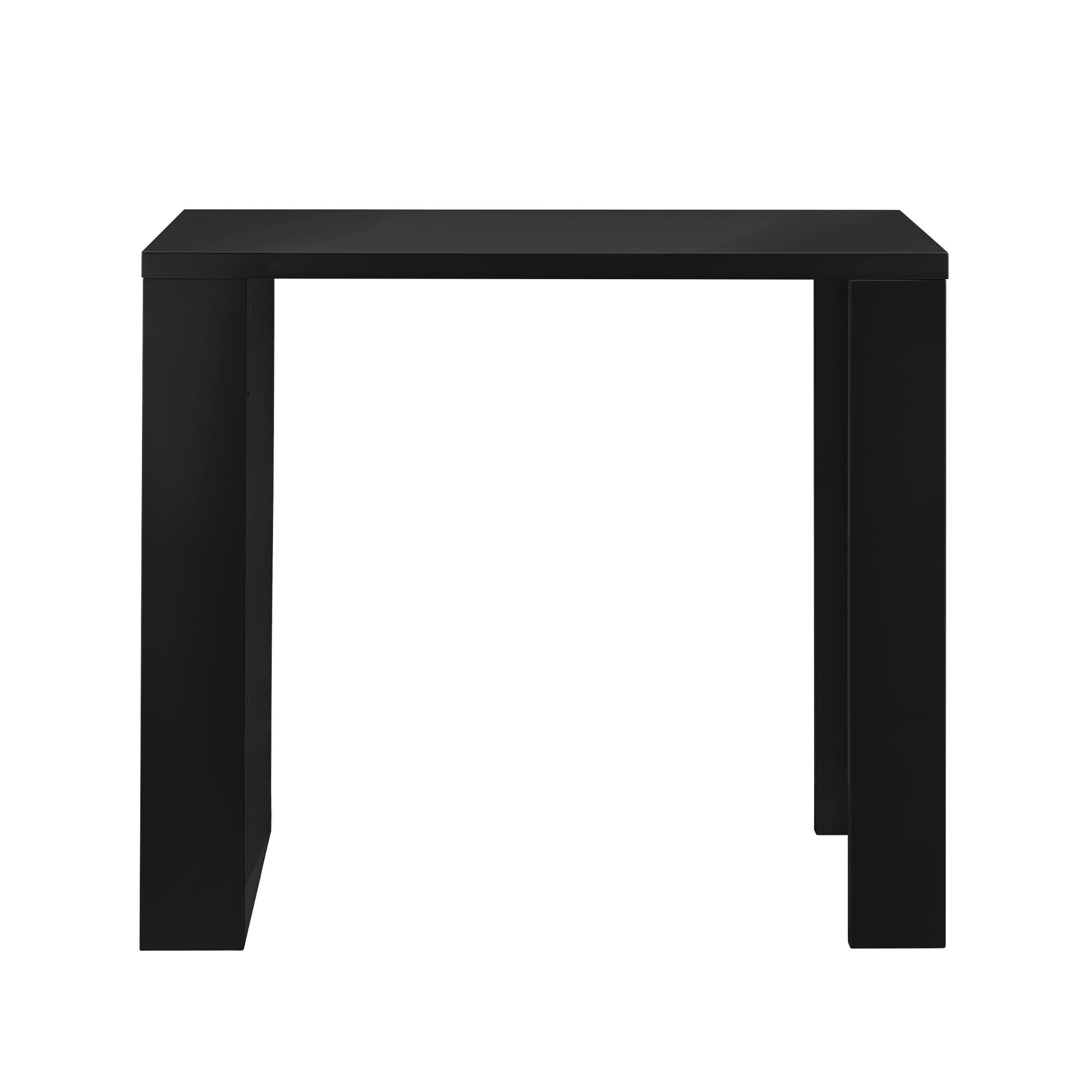 bartheke schwarz bartresen bartisch stehtisch theke tresen bar hausbar ebay. Black Bedroom Furniture Sets. Home Design Ideas