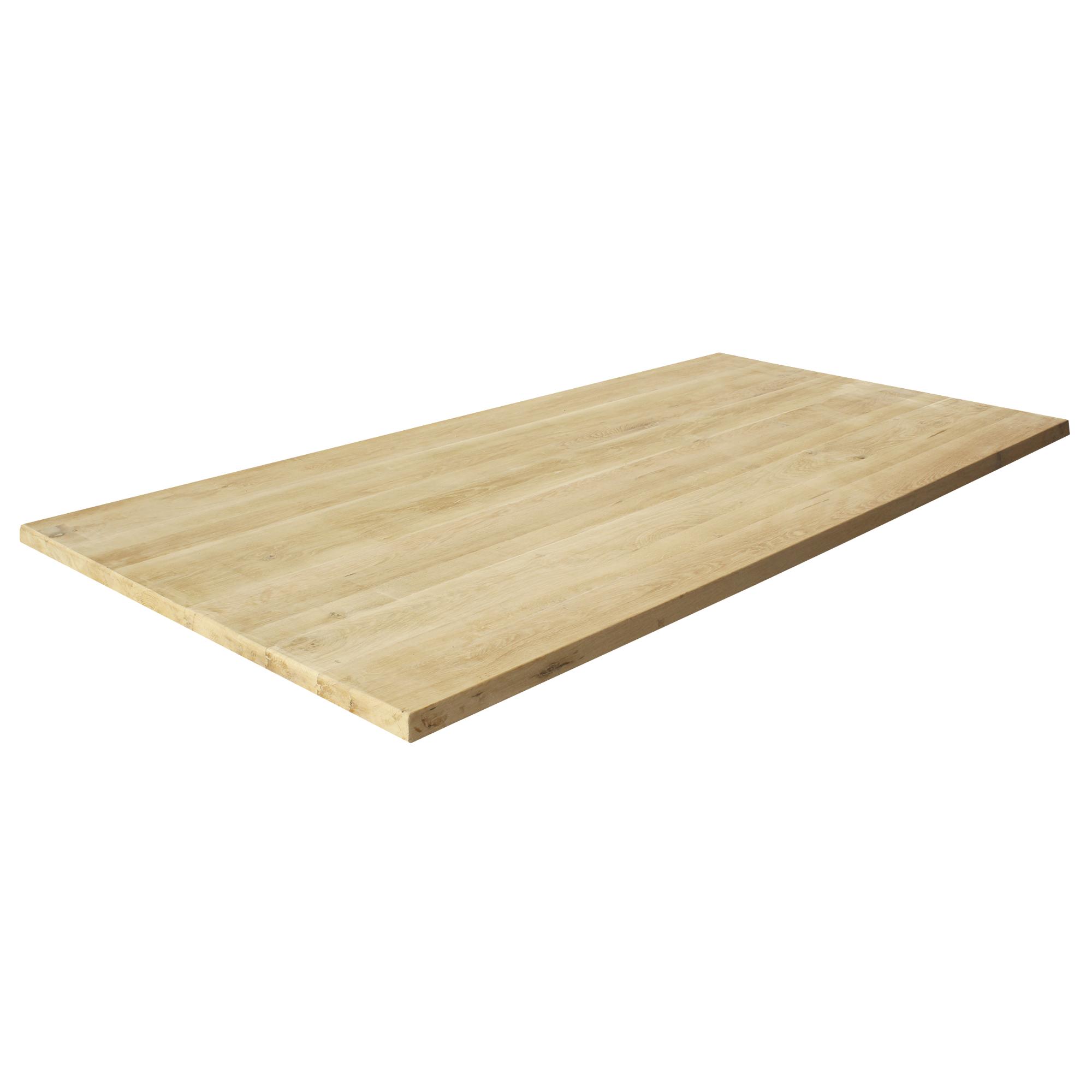 tischplatte eichenholz massivholzplatte eiche massiv holz diy 200x100cm ebay. Black Bedroom Furniture Sets. Home Design Ideas