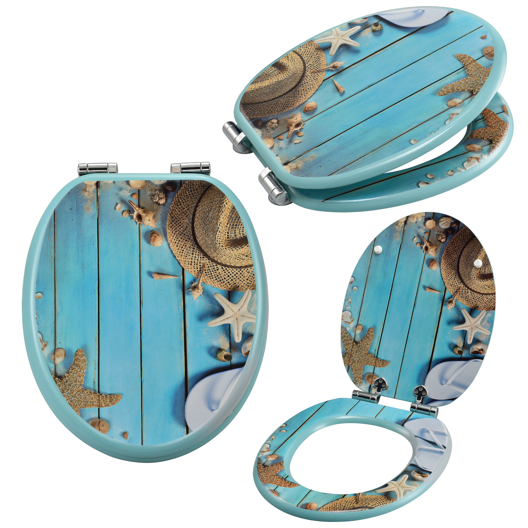 toilettensitz absenkautomatik wc sitz toilettendeckel klodeckel motiv ebay. Black Bedroom Furniture Sets. Home Design Ideas