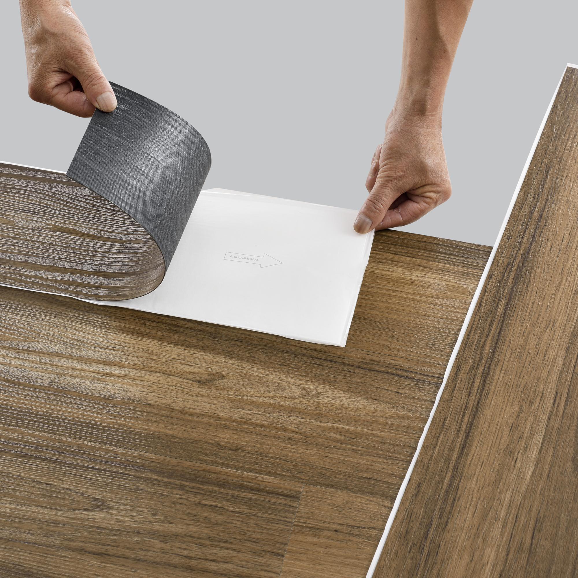 PVC Laminat Dielen Vinyl Bodenbelag ca 1m² 0,3mm Nutzschicht Landhausdiele