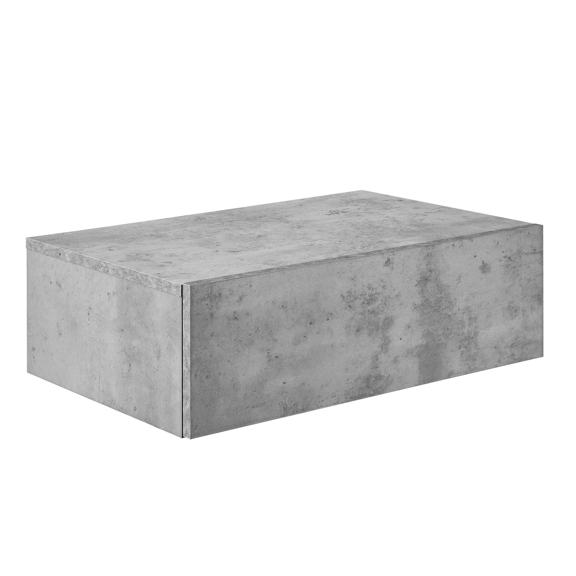 nachttisch beton tisch nachtschrank. Black Bedroom Furniture Sets. Home Design Ideas