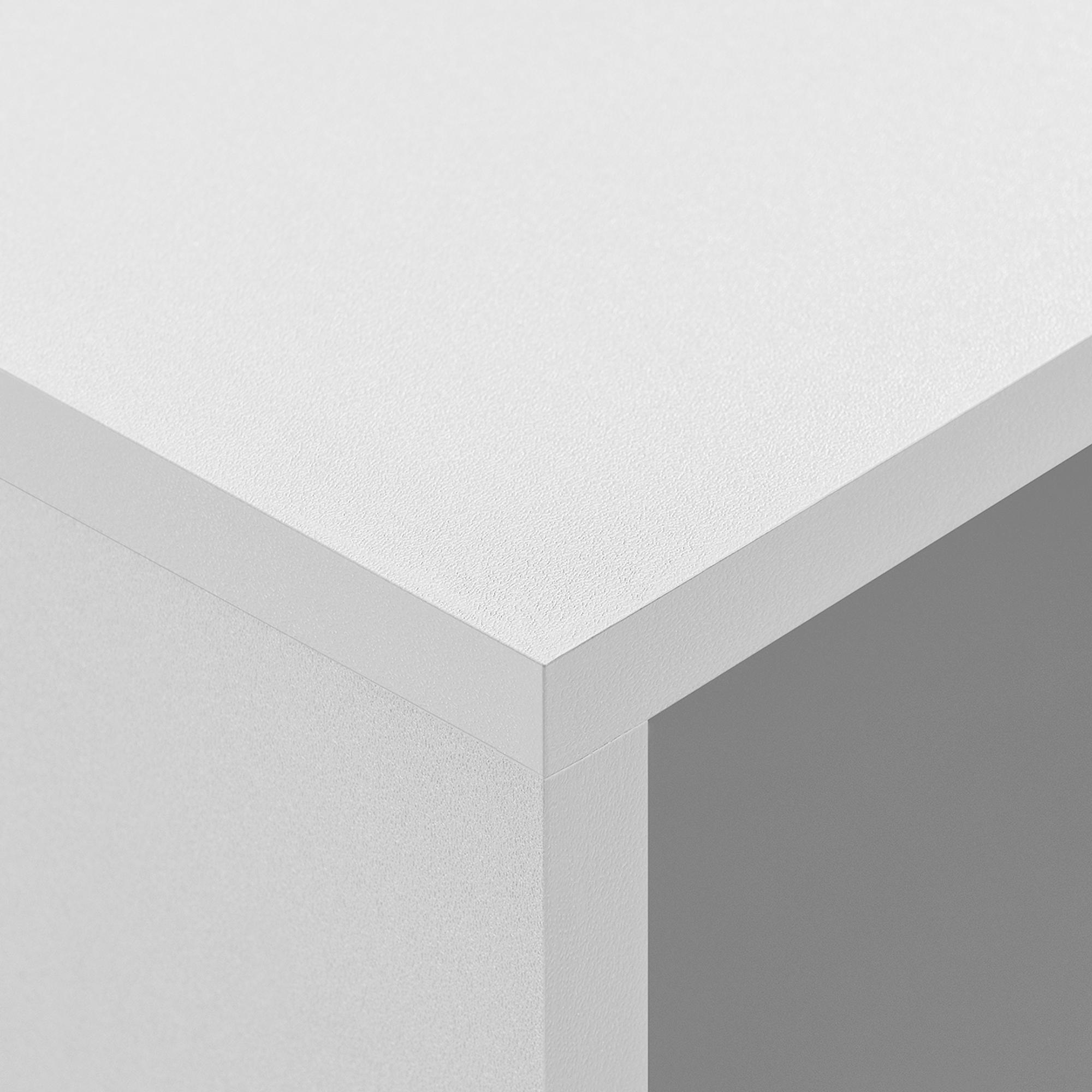beistelltisch mit hairpin legs nachttisch wandkonsole regal wei ebay. Black Bedroom Furniture Sets. Home Design Ideas