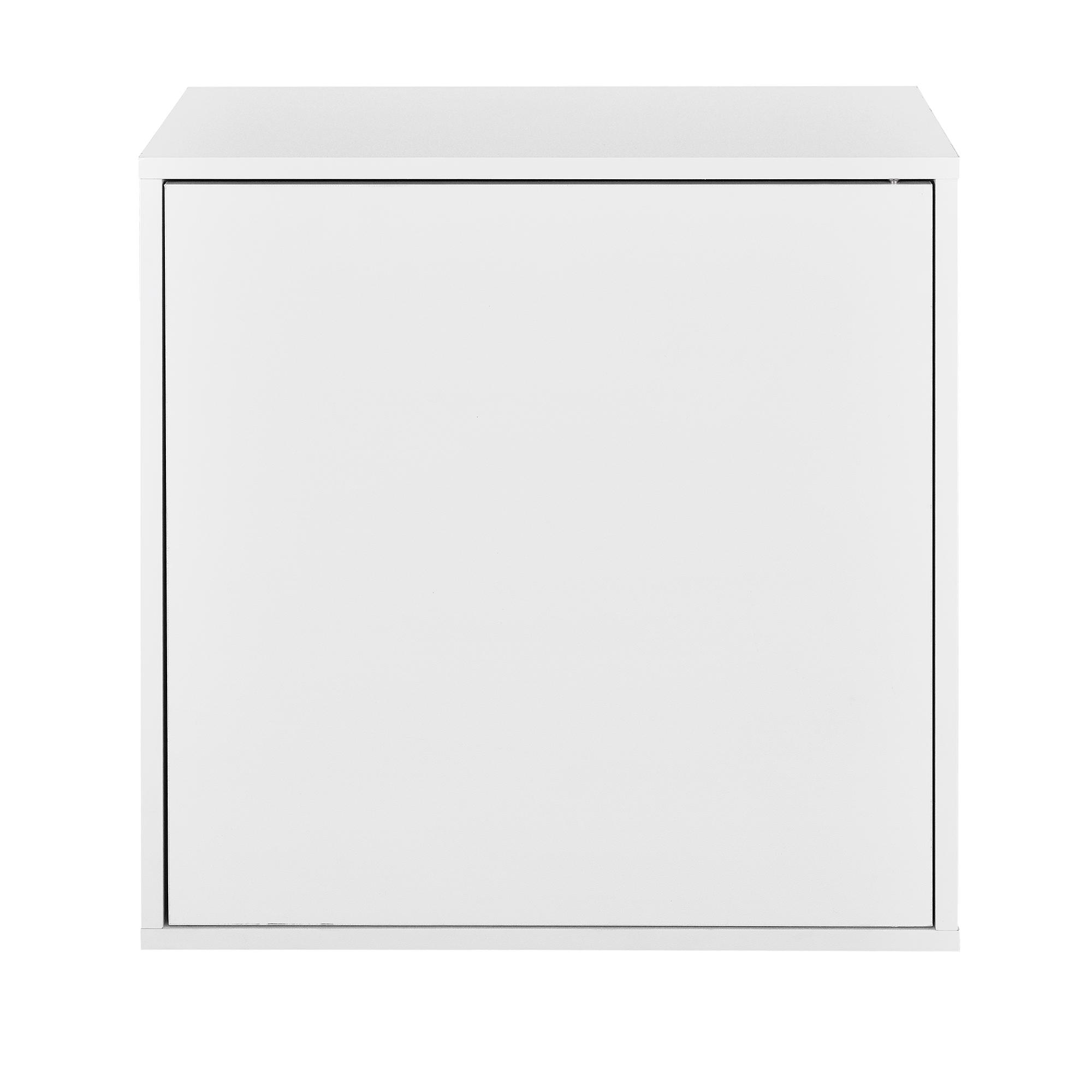 h ngeschrank 45x45x30cm wei wandschrank schrank wandregal regal ebay. Black Bedroom Furniture Sets. Home Design Ideas